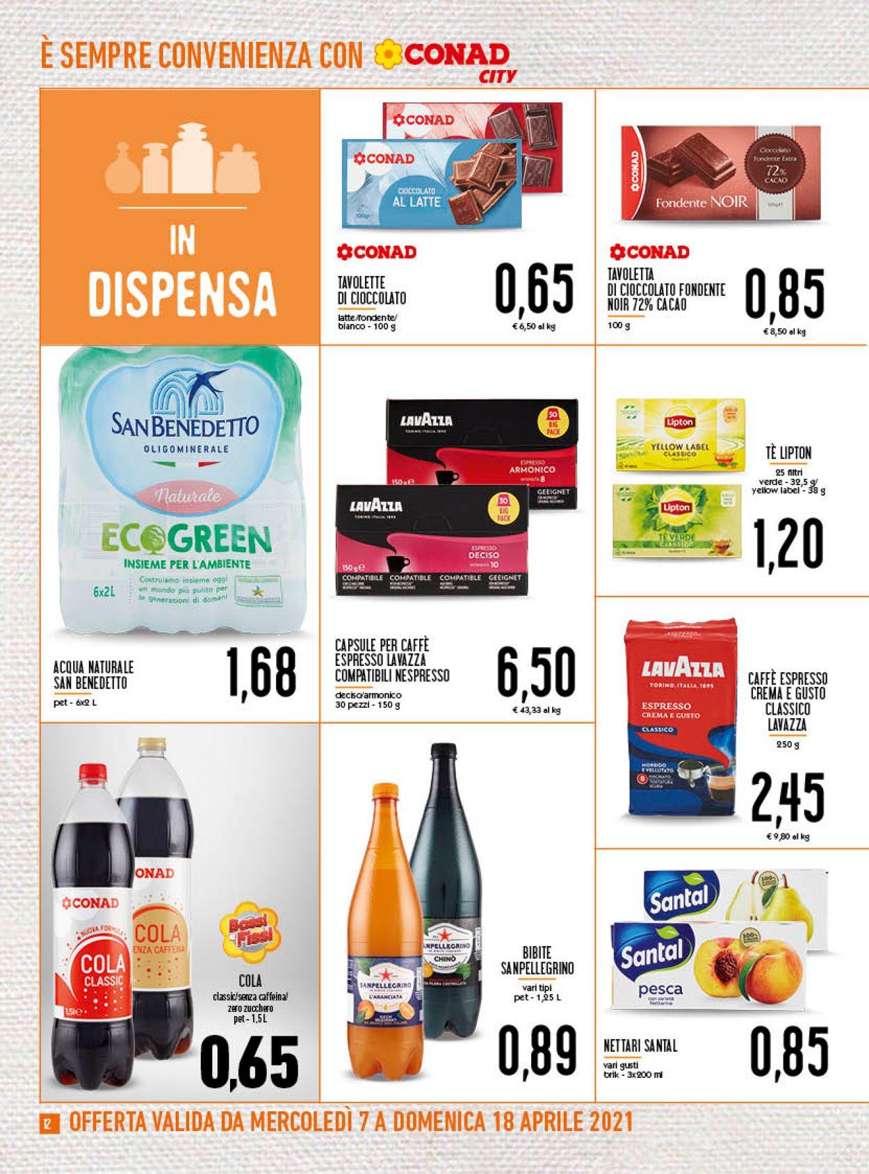 Volantino Conad - Offerte 07/04-18/04/2021 (Pagina 12)