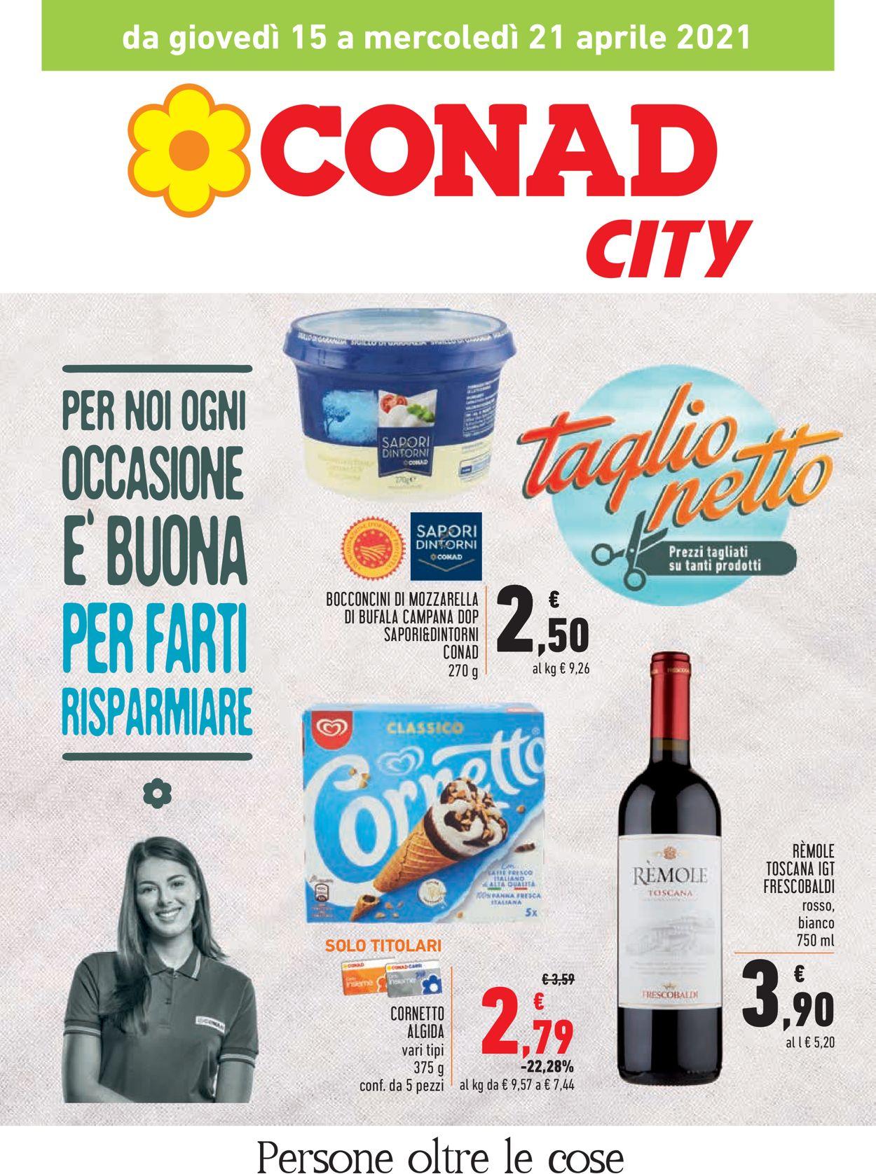 Volantino Conad - Offerte 15/04-21/04/2021