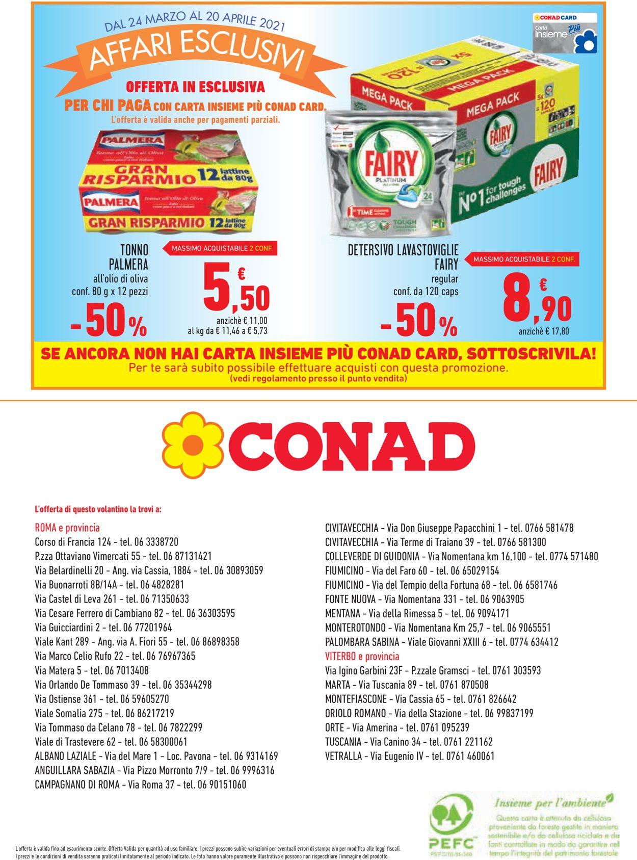 Volantino Conad - Offerte 24/03-20/04/2021 (Pagina 12)