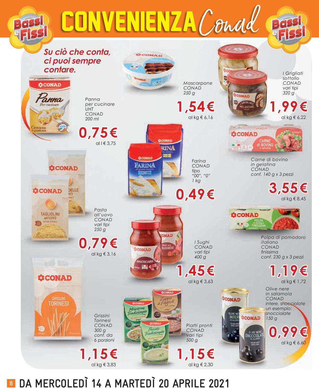 Volantino Conad - Offerte 14/04-20/04/2021 (Pagina 16)