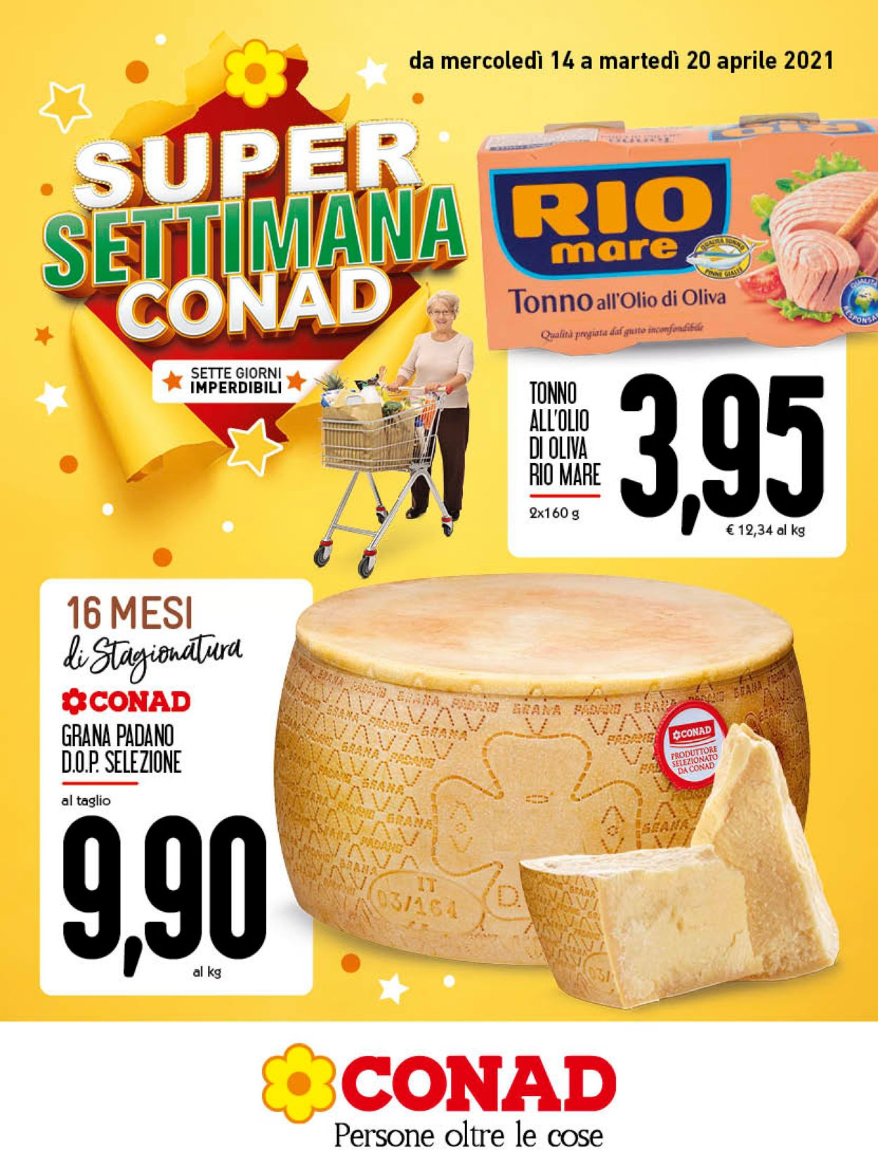 Volantino Conad - Offerte 14/04-20/04/2021