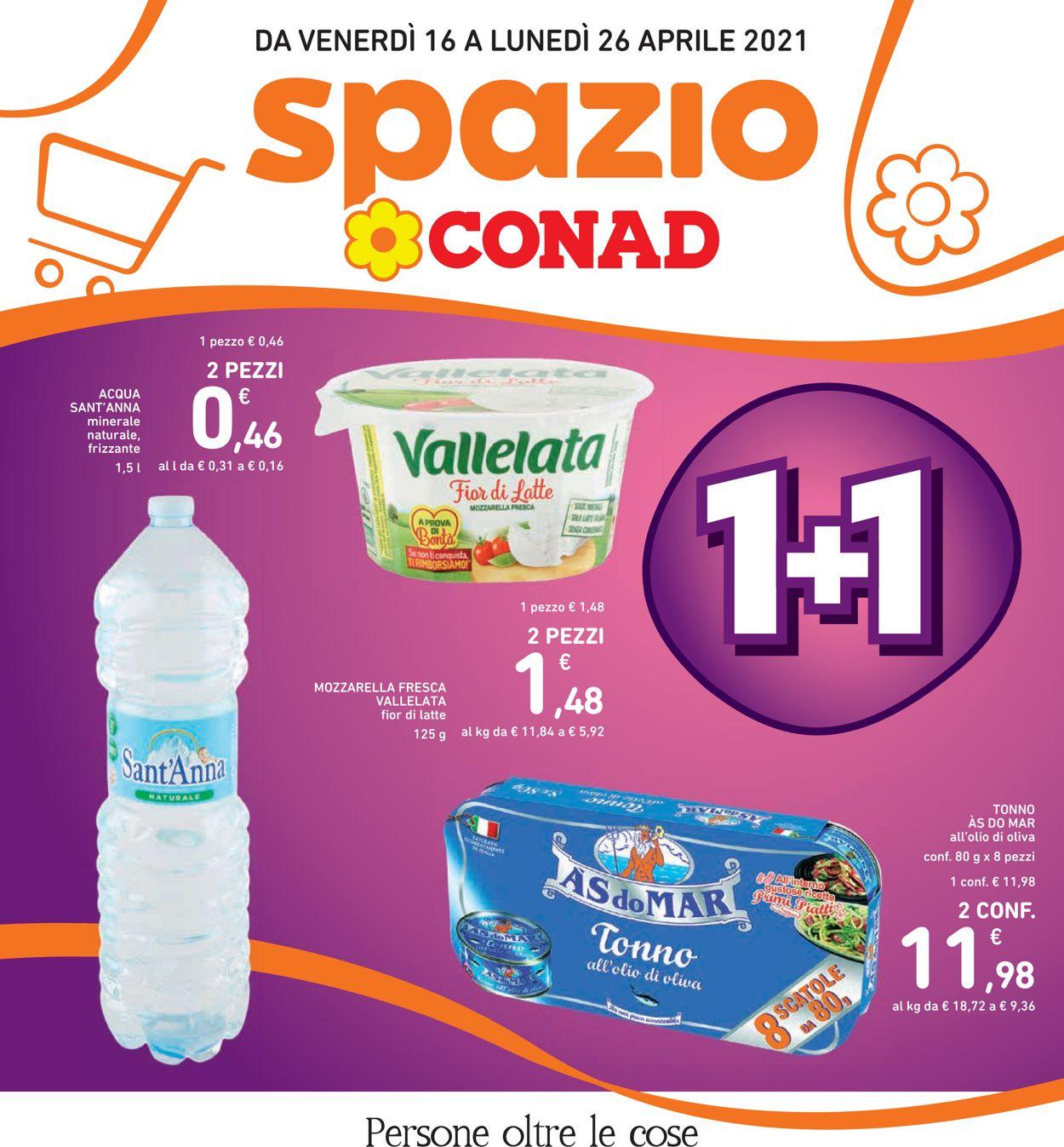 Volantino Conad - Offerte 16/04-26/04/2021