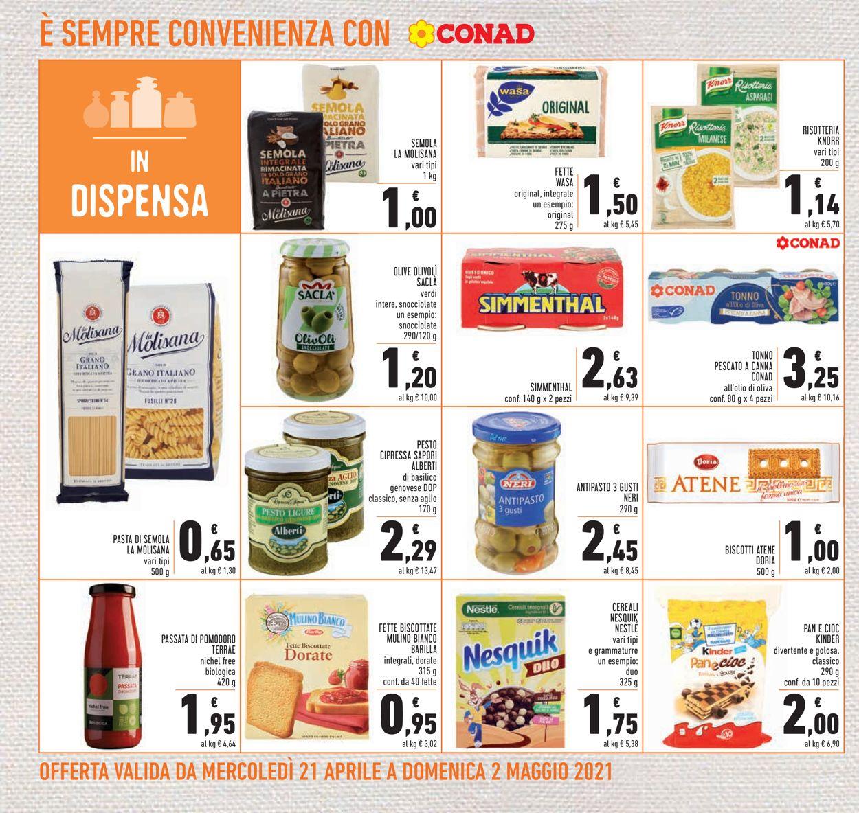 Volantino Conad - Offerte 21/04-02/05/2021 (Pagina 20)