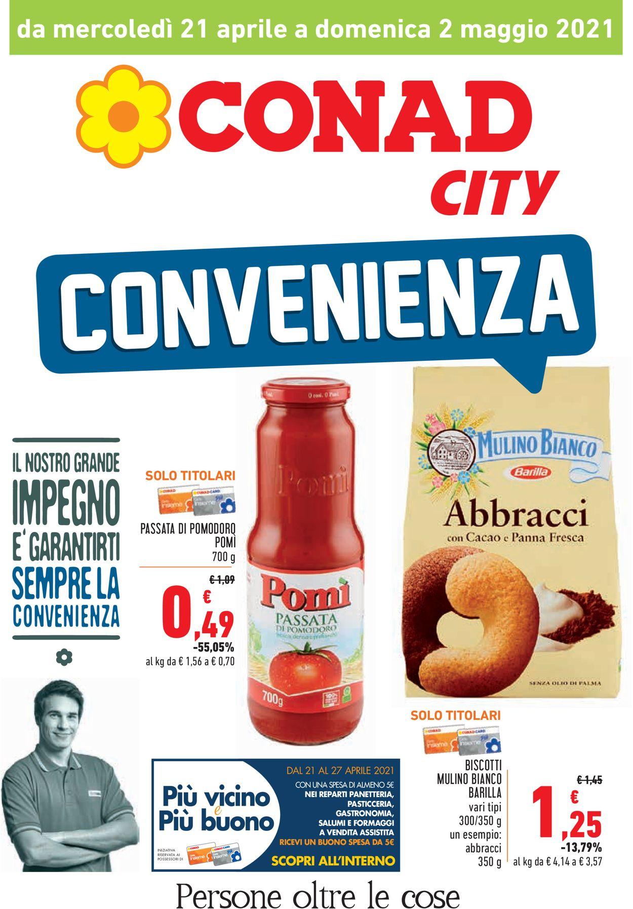 Volantino Conad - Offerte 21/04-02/05/2021