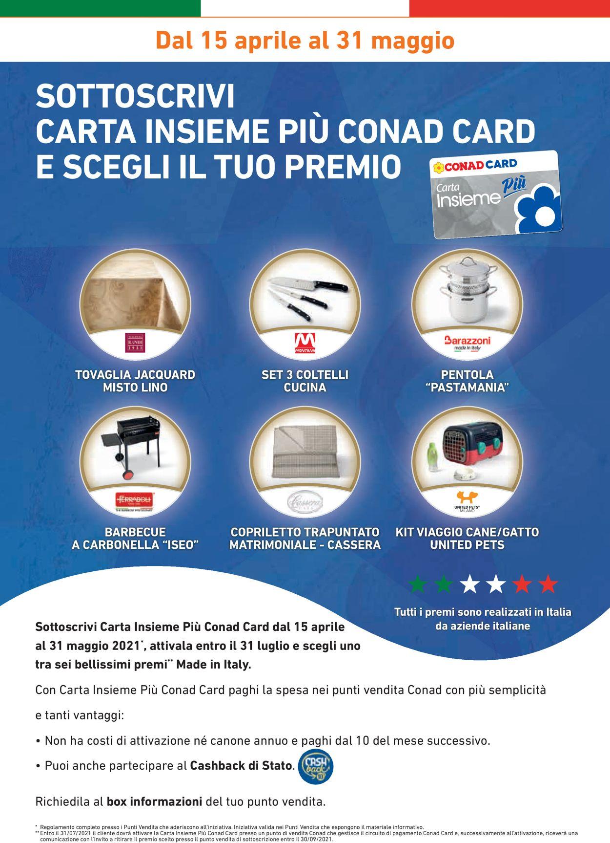 Volantino Conad - Offerte 21/04-18/05/2021 (Pagina 2)