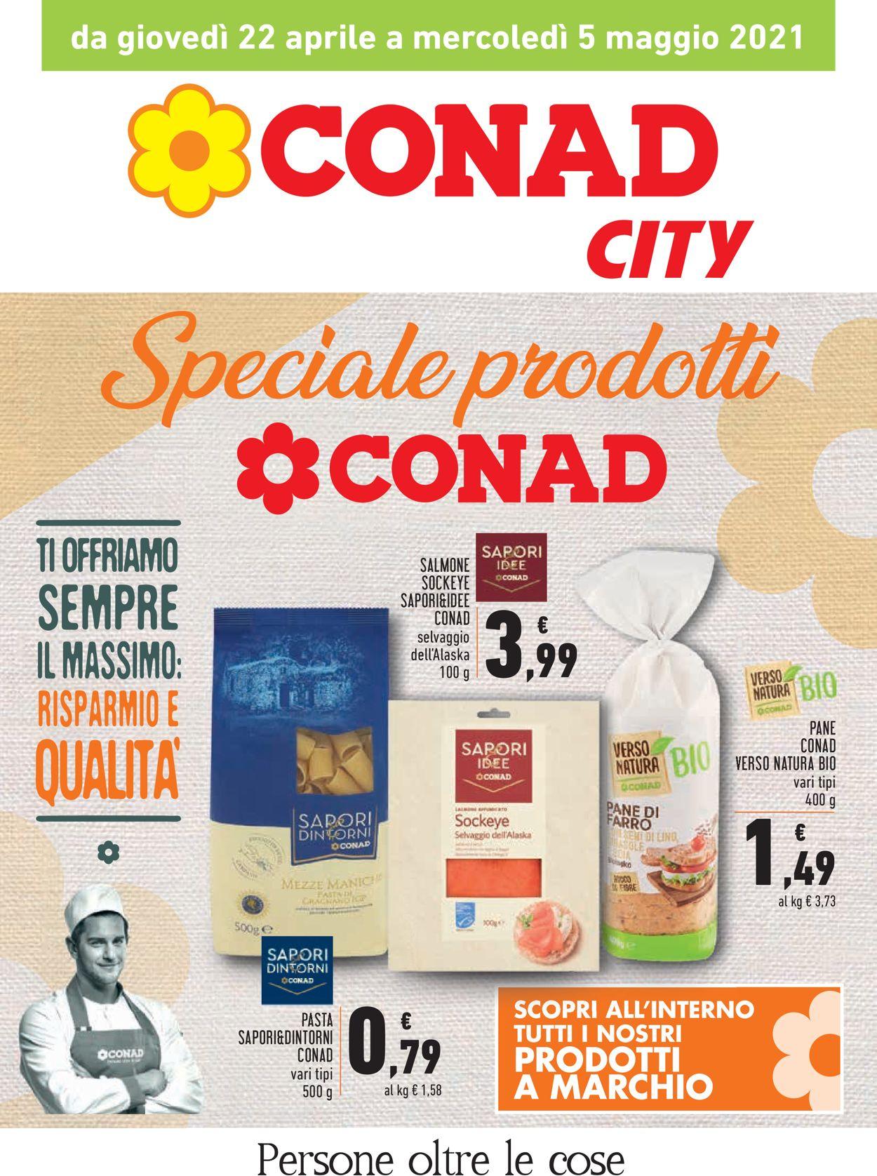 Volantino Conad - Offerte 22/04-05/05/2021