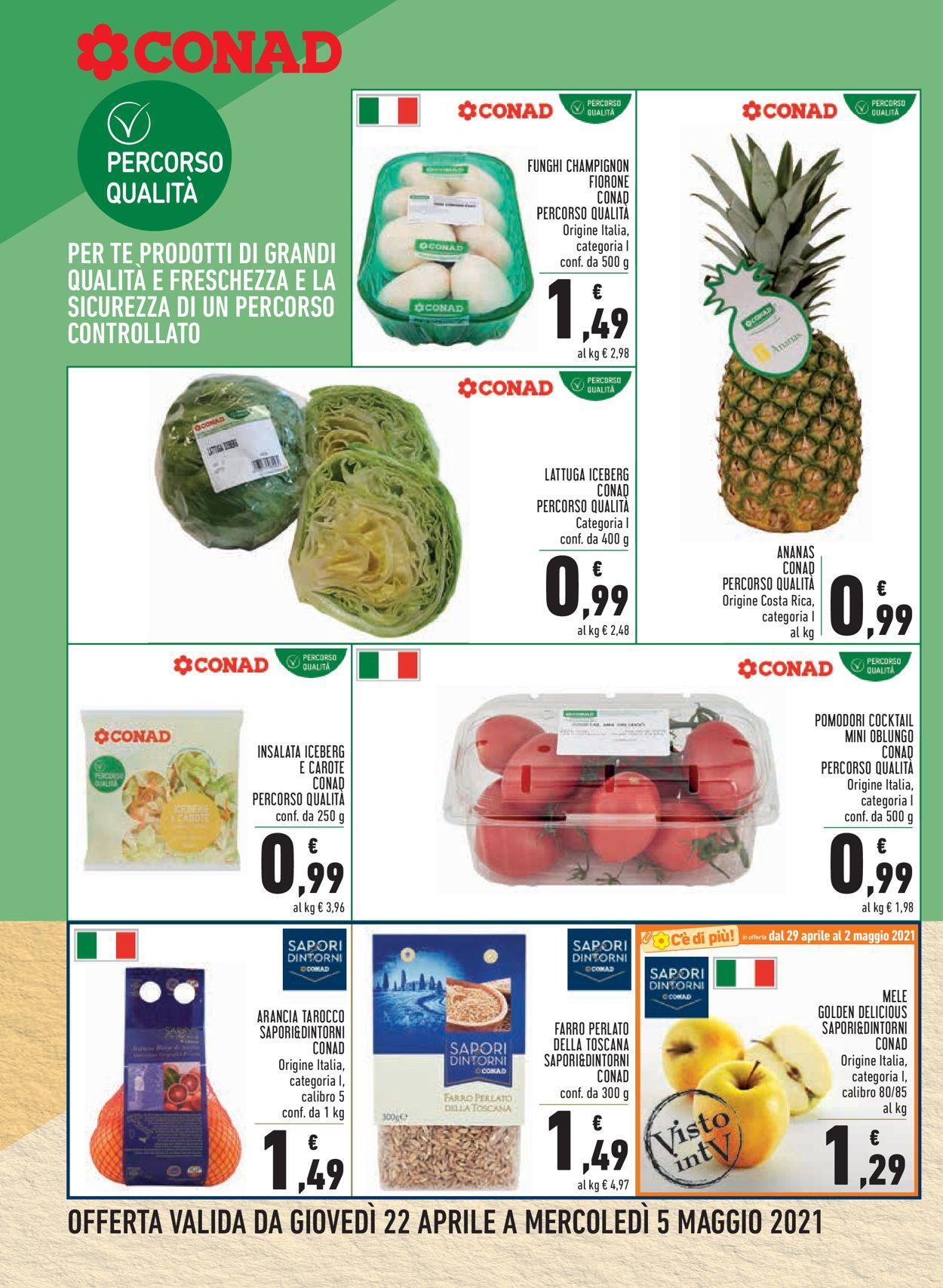 Volantino Conad - Offerte 22/04-05/05/2021 (Pagina 2)