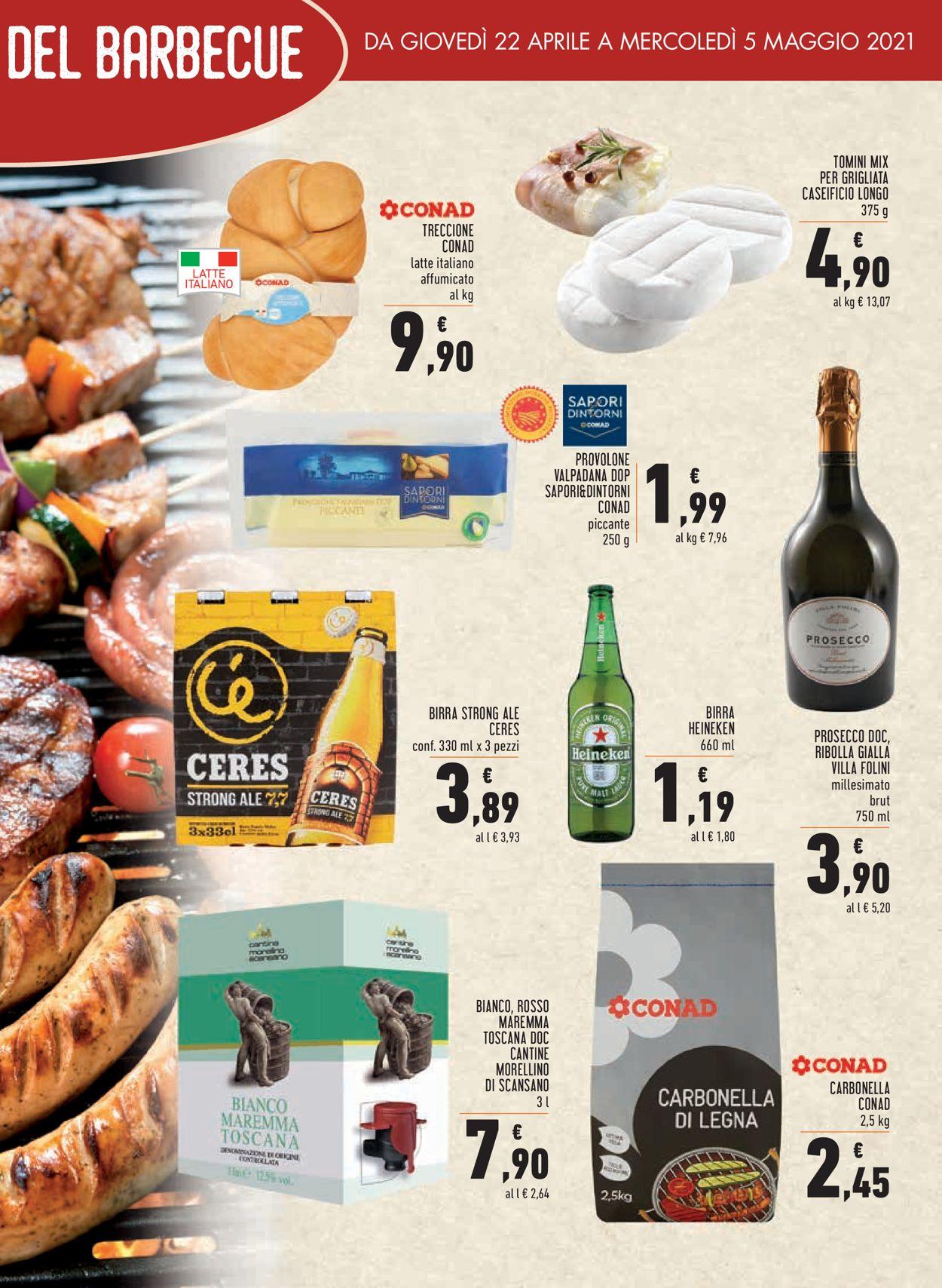 Volantino Conad - Offerte 22/04-05/05/2021 (Pagina 21)