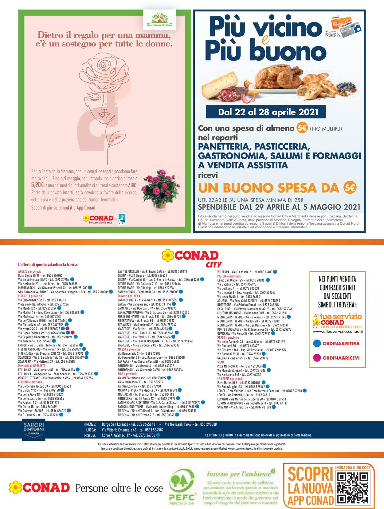 Volantino Conad - Offerte 22/04-05/05/2021 (Pagina 24)