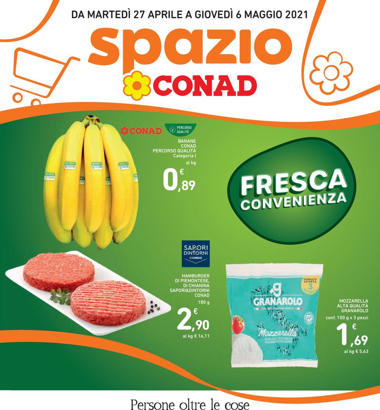 Volantino Conad - Offerte 27/04-06/05/2021