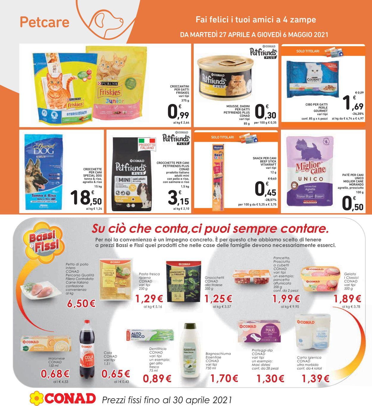 Volantino Conad - Offerte 27/04-06/05/2021 (Pagina 26)