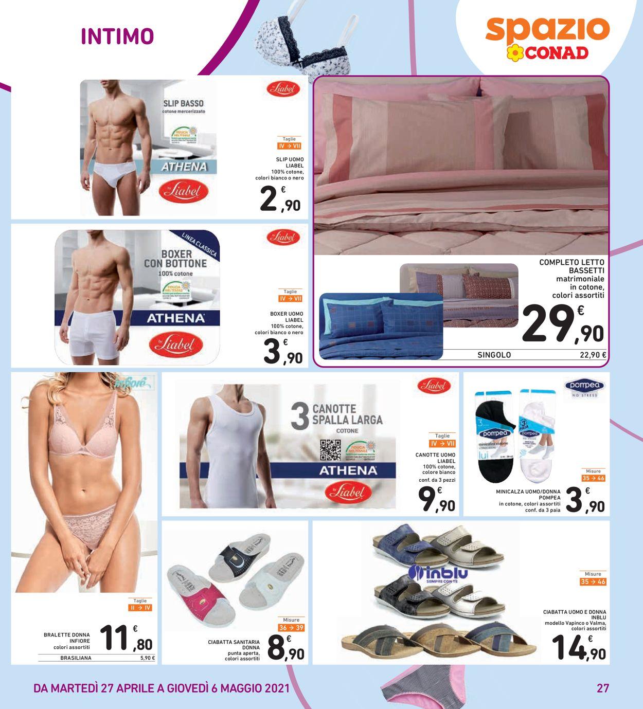 Volantino Conad - Offerte 27/04-06/05/2021 (Pagina 27)