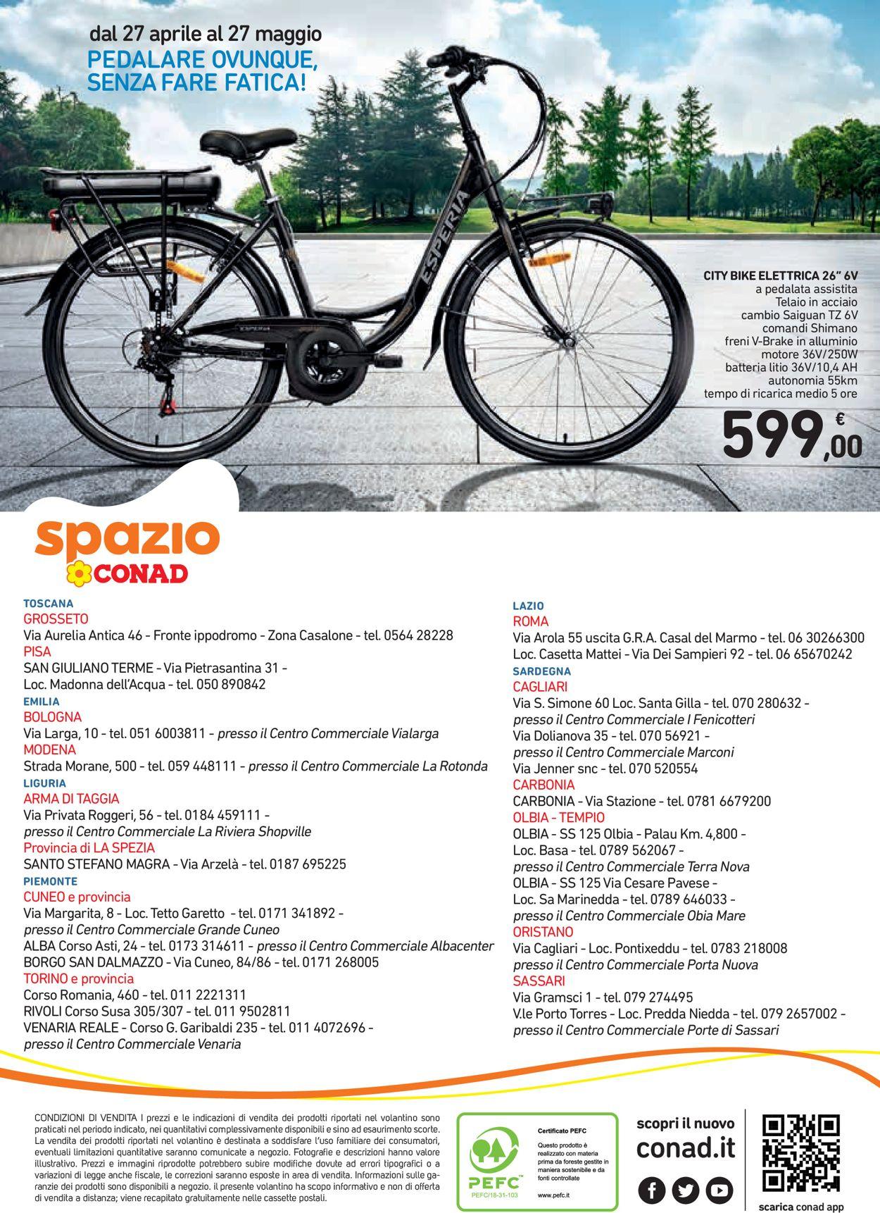 Volantino Conad - Offerte 27/04-27/05/2021 (Pagina 16)