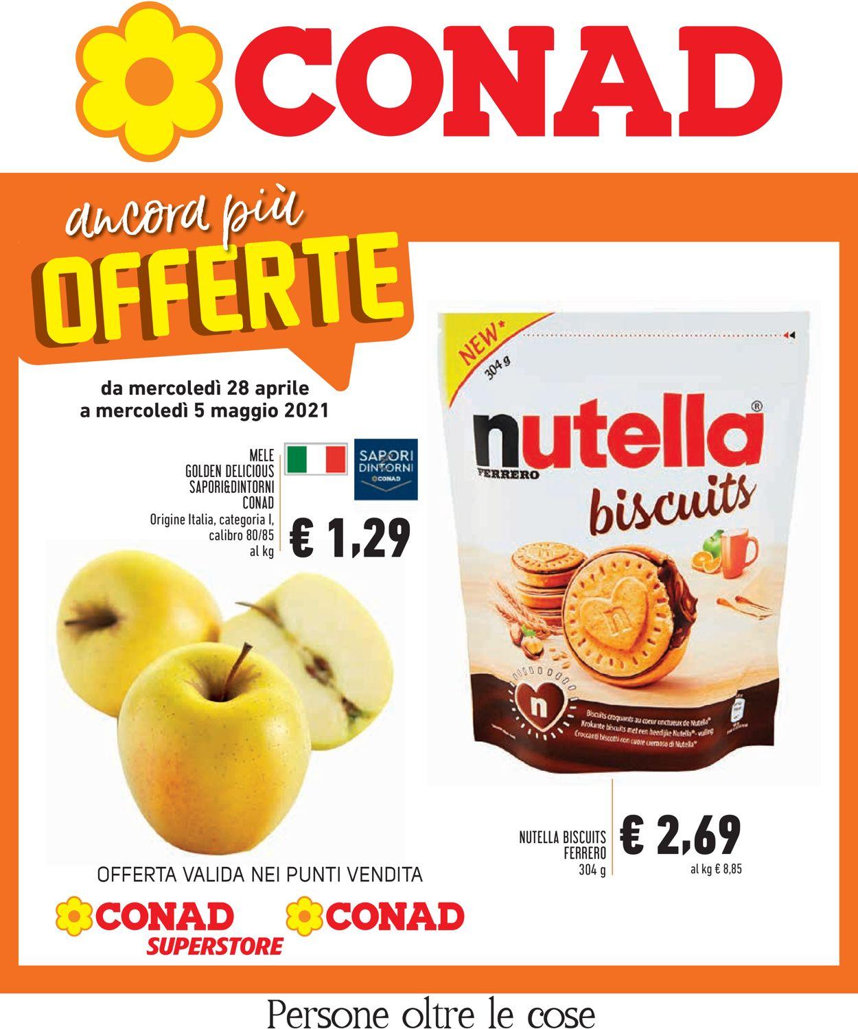 Volantino Conad - Offerte 28/04-05/05/2021