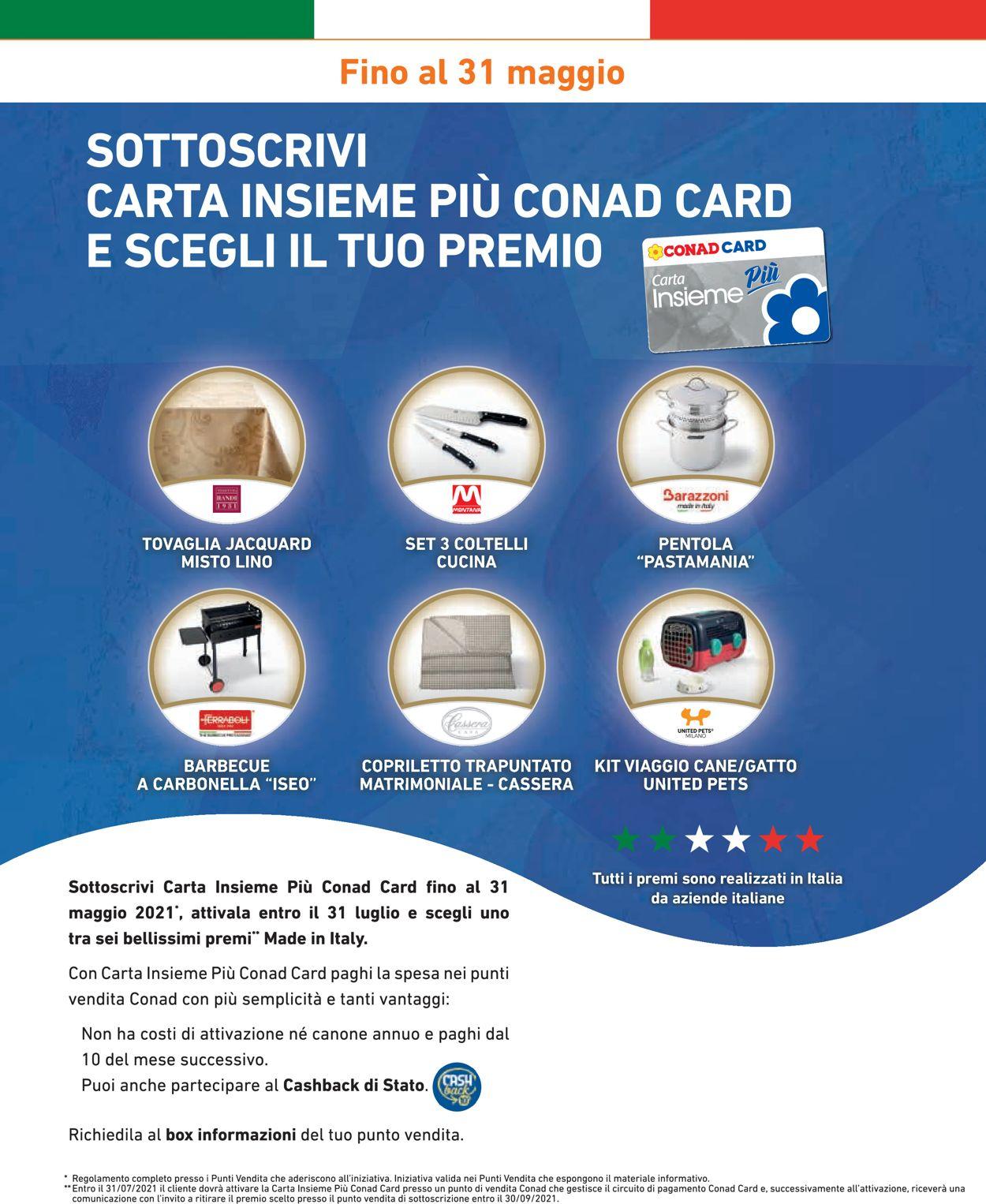 Volantino Conad - Offerte 28/04-05/05/2021 (Pagina 10)