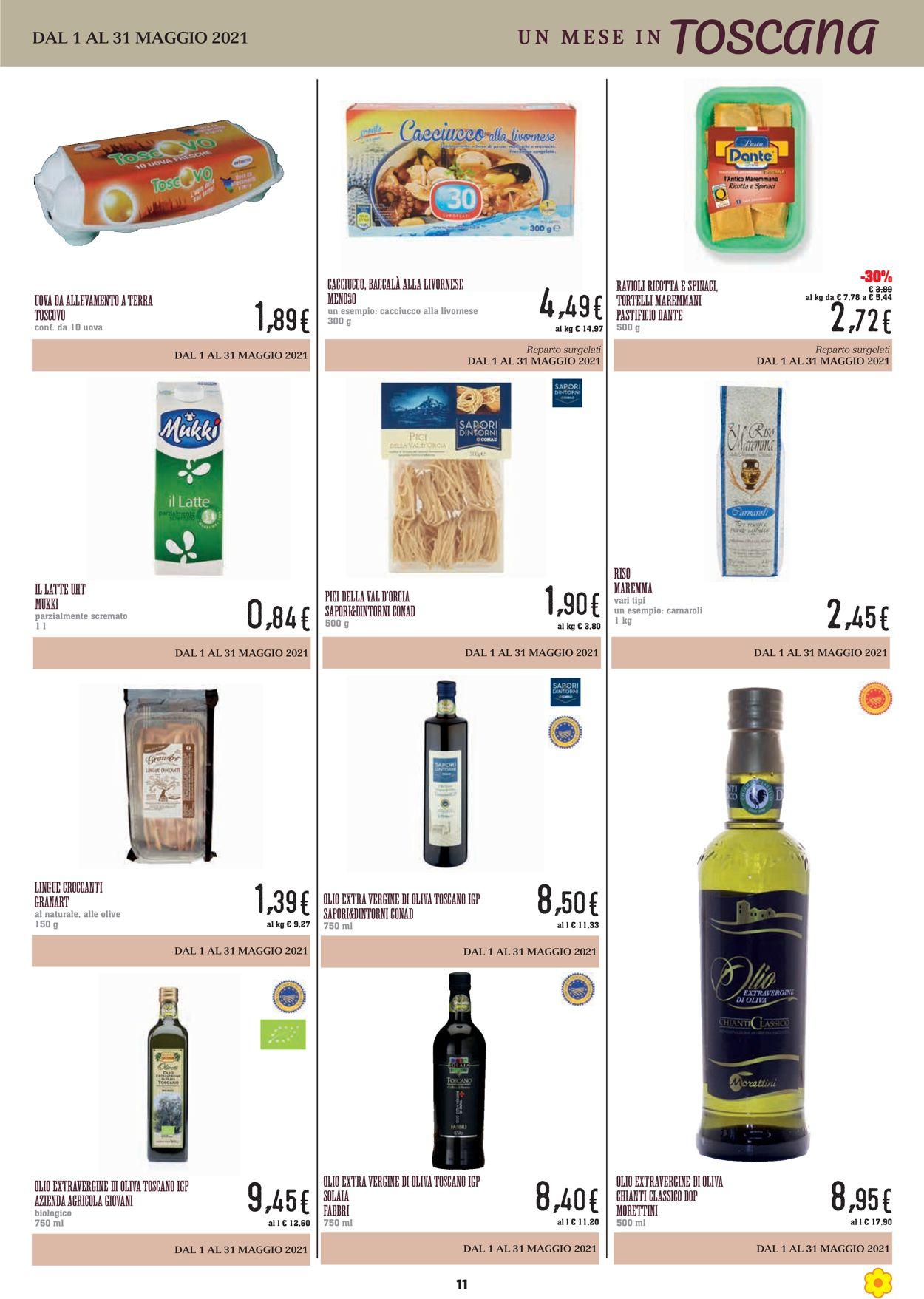 Volantino Conad - Offerte 01/05-31/05/2021 (Pagina 11)