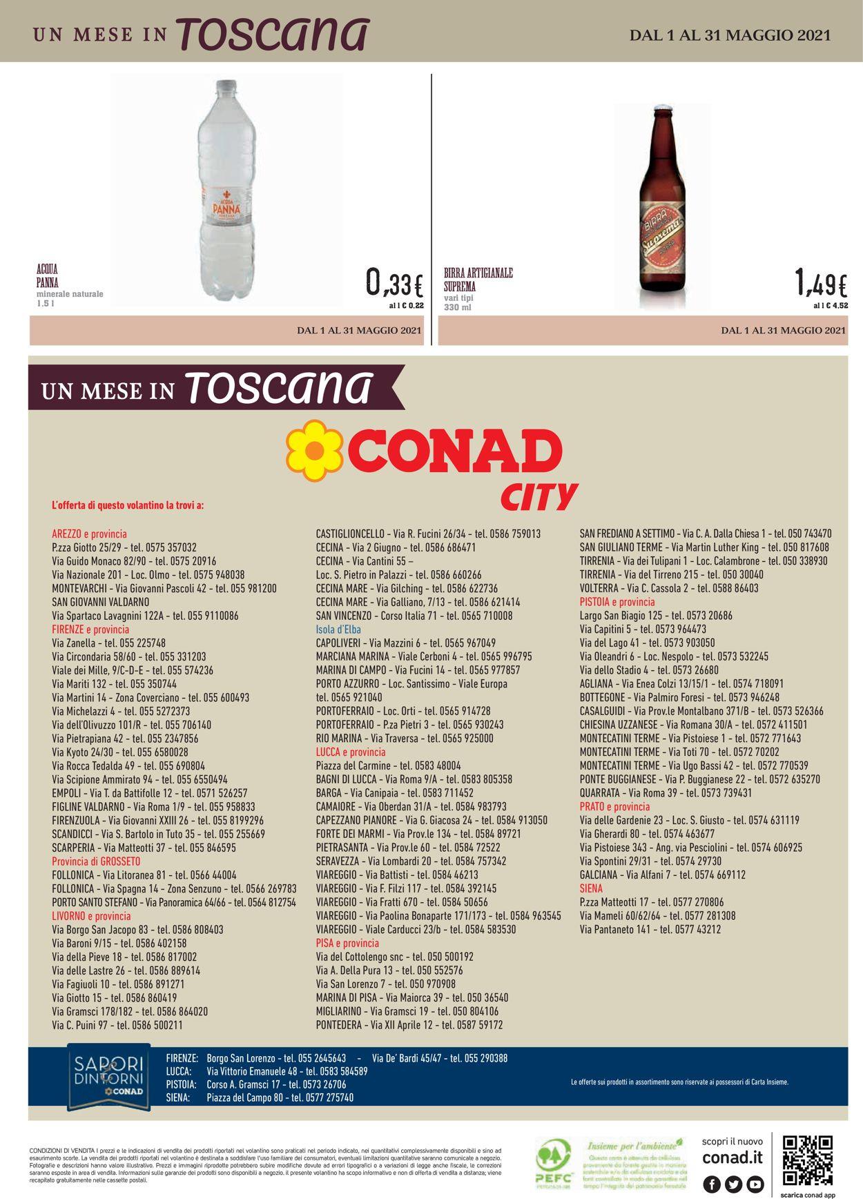 Volantino Conad - Offerte 01/05-31/05/2021 (Pagina 16)