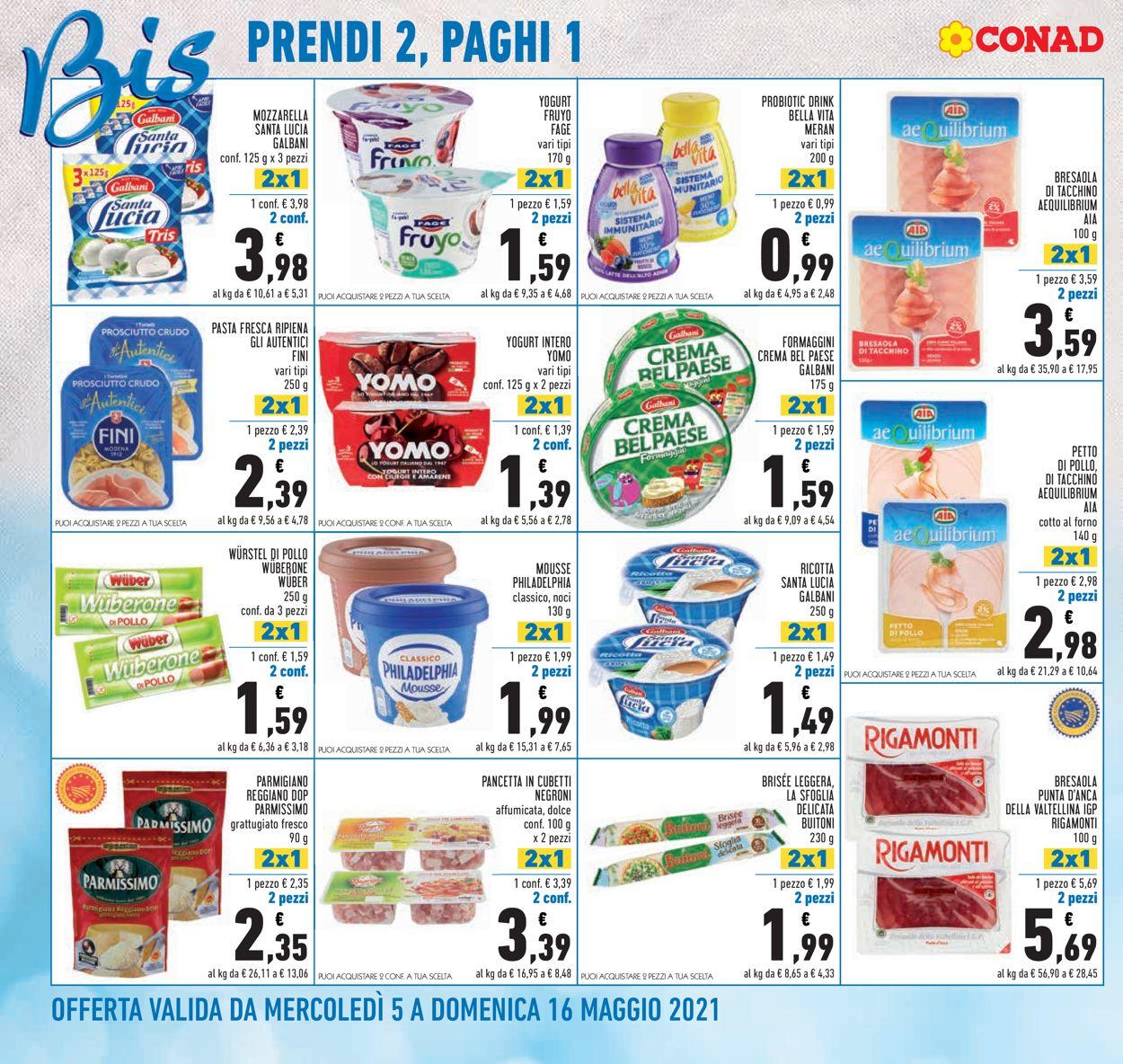 Volantino Conad - Offerte 06/05-16/05/2021 (Pagina 2)