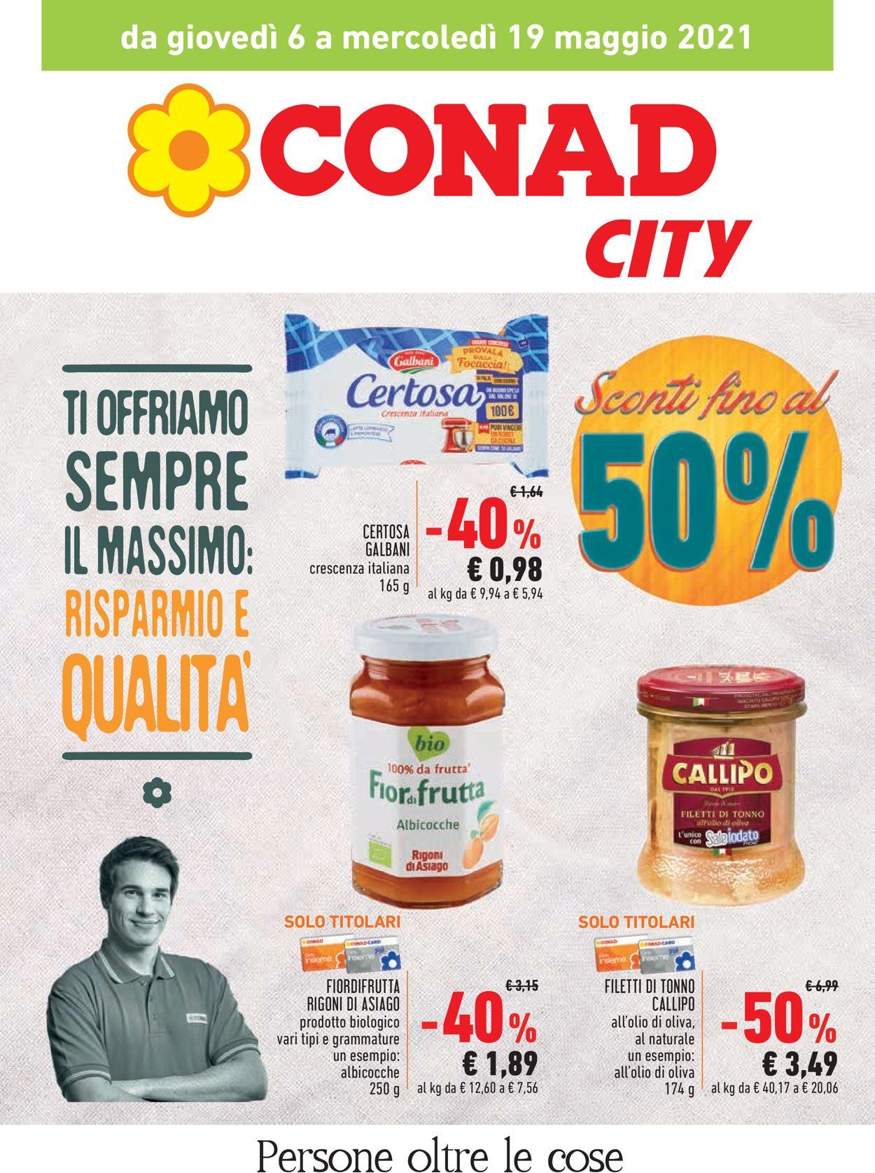 Volantino Conad - Offerte 06/05-19/05/2021