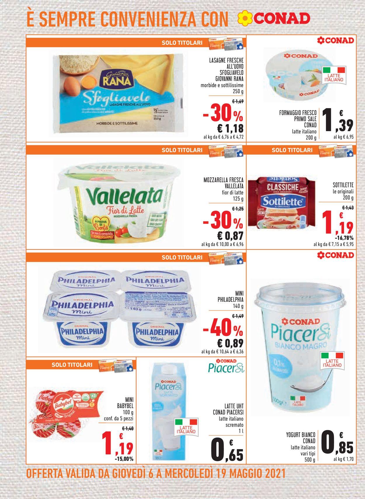 Volantino Conad - Offerte 06/05-19/05/2021 (Pagina 8)