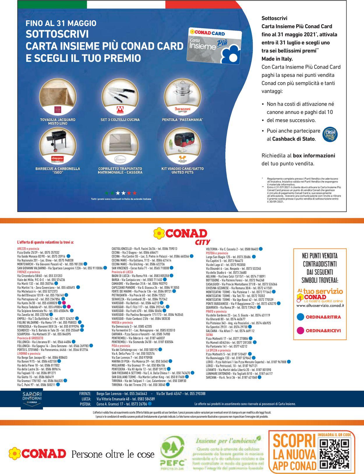 Volantino Conad - Offerte 06/05-19/05/2021 (Pagina 16)