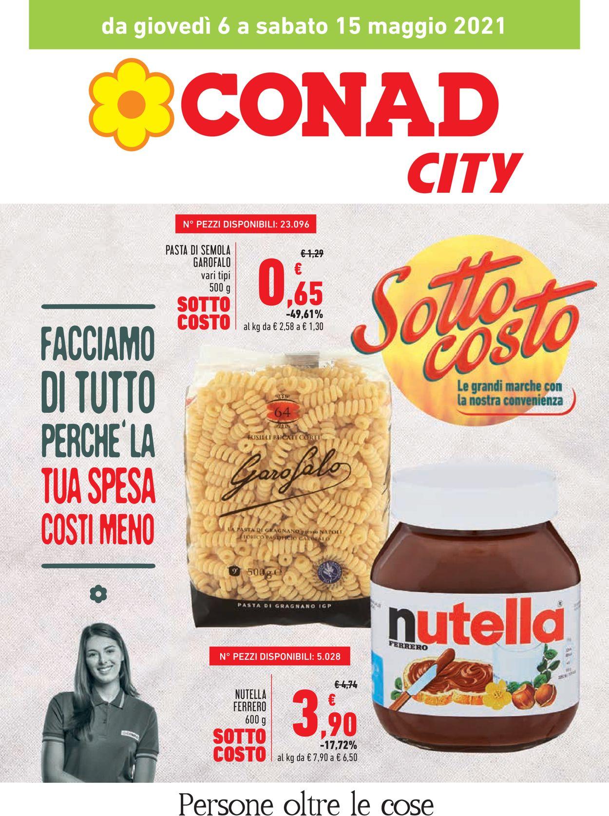 Volantino Conad - Offerte 06/05-15/05/2021