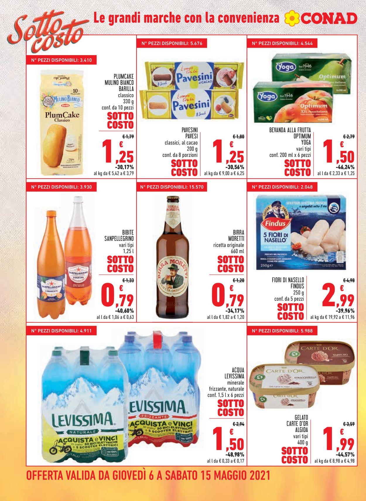 Volantino Conad - Offerte 06/05-15/05/2021 (Pagina 4)