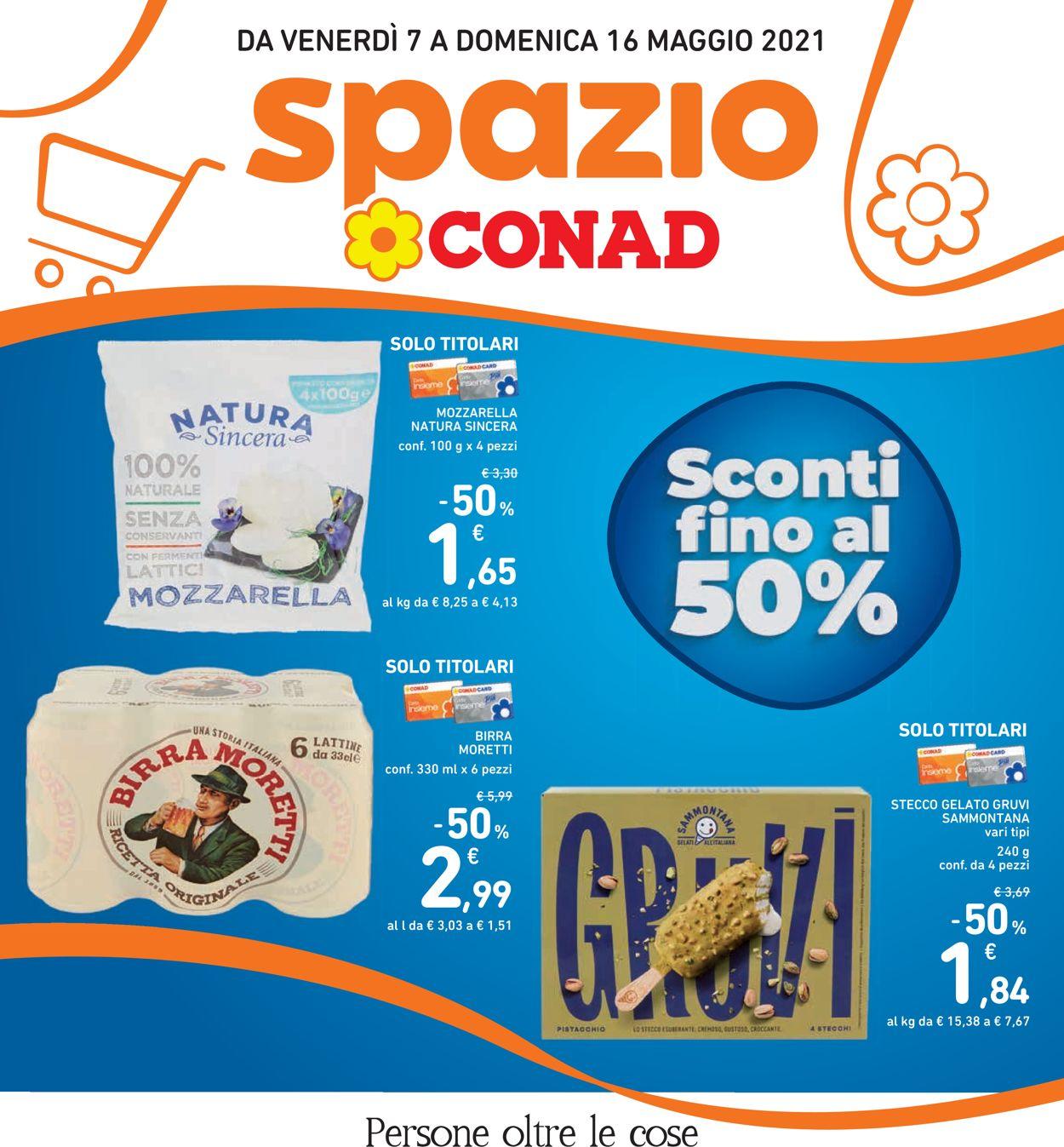 Volantino Conad - Offerte 07/05-16/05/2021