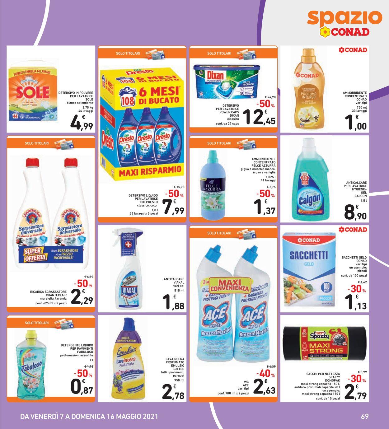 Volantino Conad - Offerte 07/05-16/05/2021 (Pagina 29)