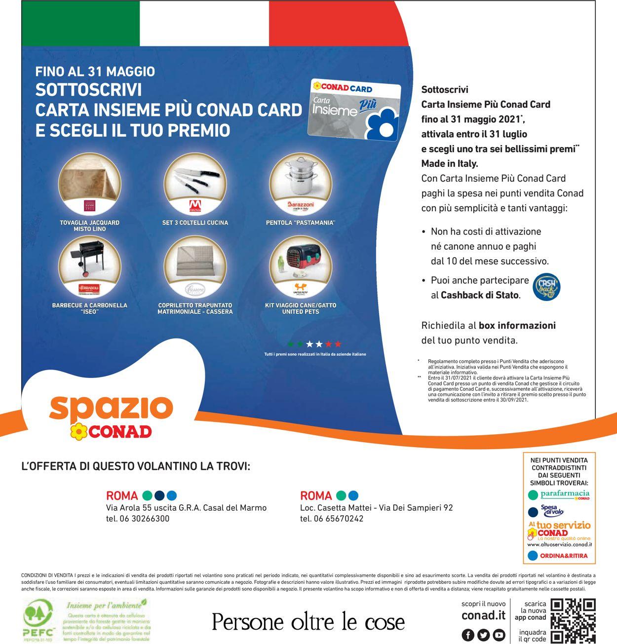Volantino Conad - Offerte 07/05-16/05/2021 (Pagina 40)