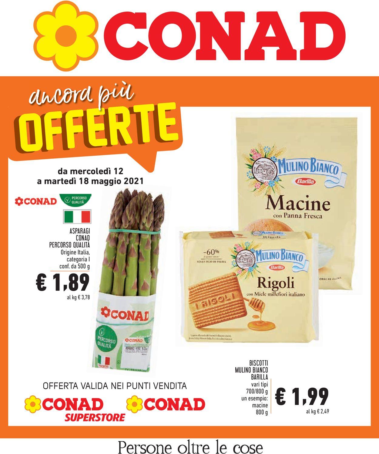 Volantino Conad - Offerte 12/05-18/05/2021