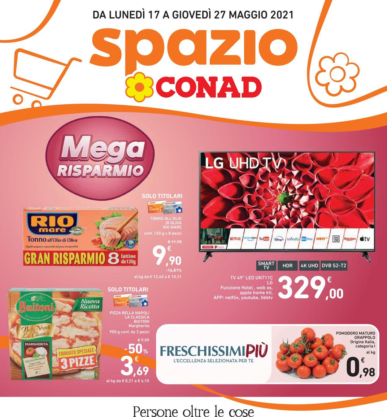 Volantino Conad - Offerte 17/05-27/05/2021