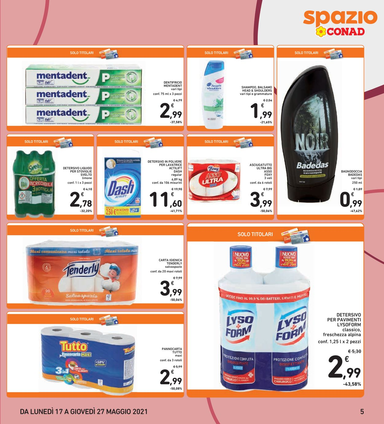 Volantino Conad - Offerte 17/05-27/05/2021 (Pagina 5)