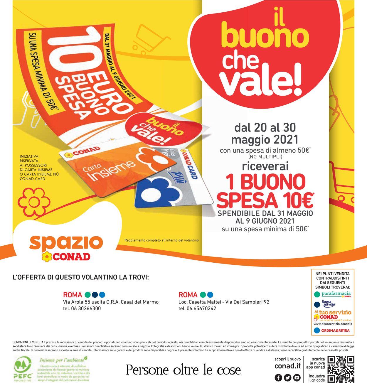 Volantino Conad - Offerte 17/05-27/05/2021 (Pagina 32)
