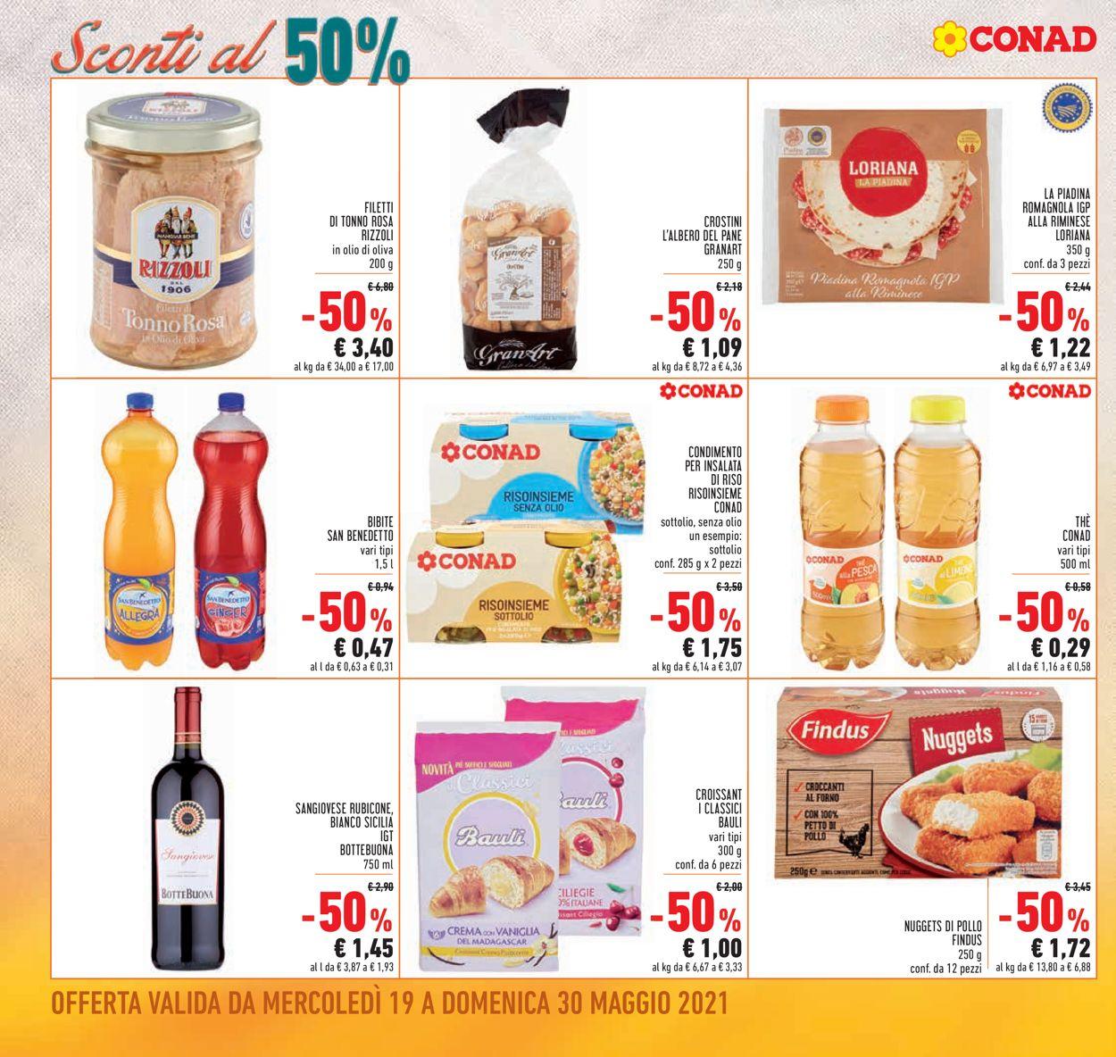 Volantino Conad - Offerte 19/05-30/05/2021 (Pagina 2)