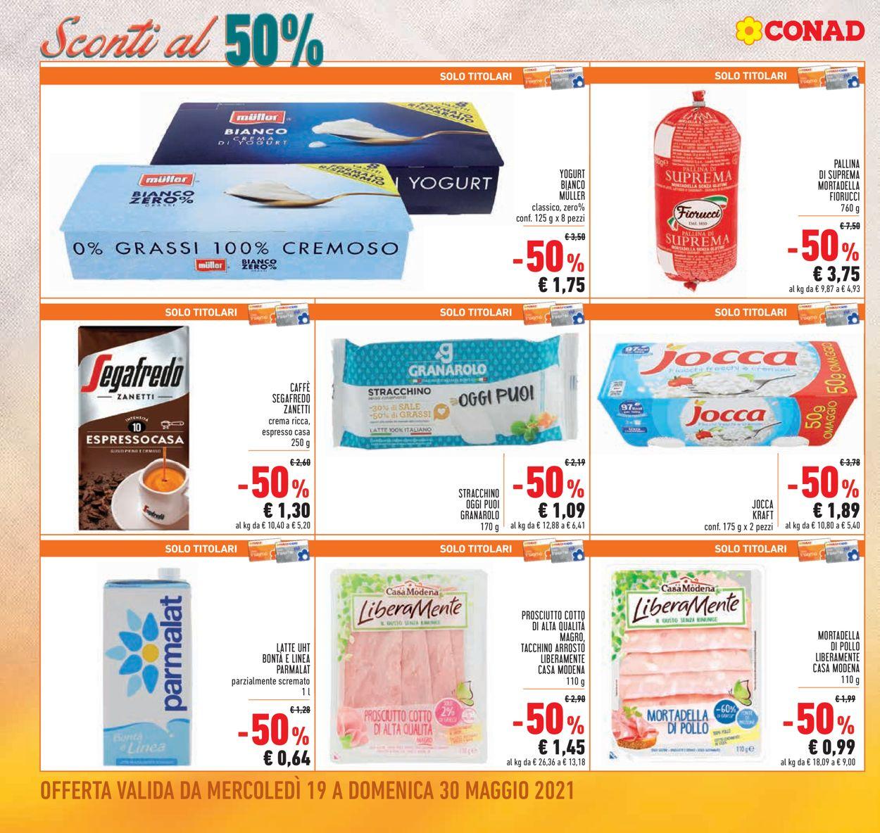 Volantino Conad - Offerte 19/05-30/05/2021 (Pagina 4)