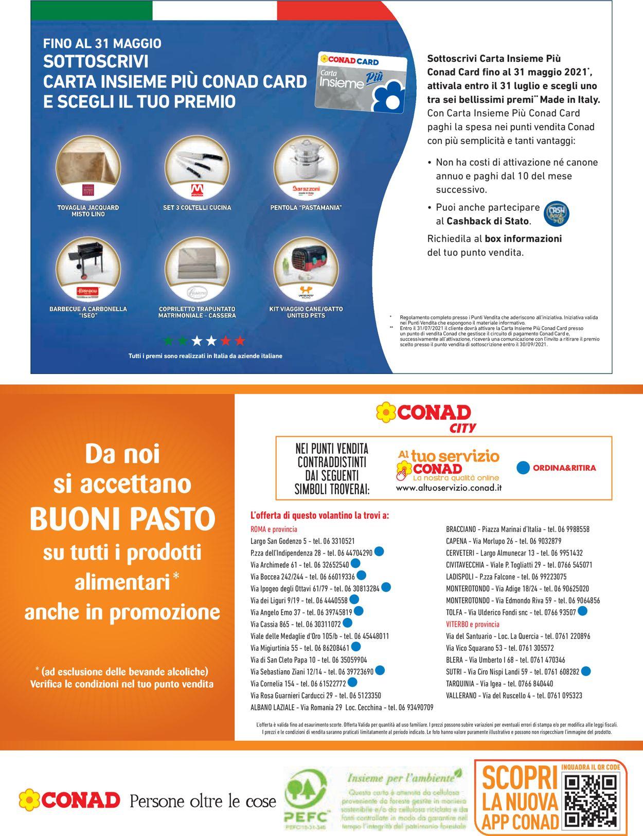 Volantino Conad - Offerte 19/05-30/05/2021 (Pagina 20)