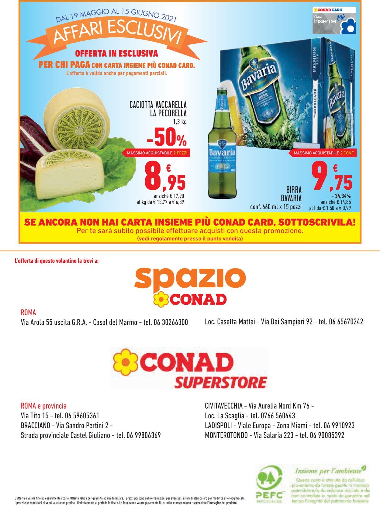 Volantino Conad - Offerte 19/05-15/06/2021 (Pagina 16)