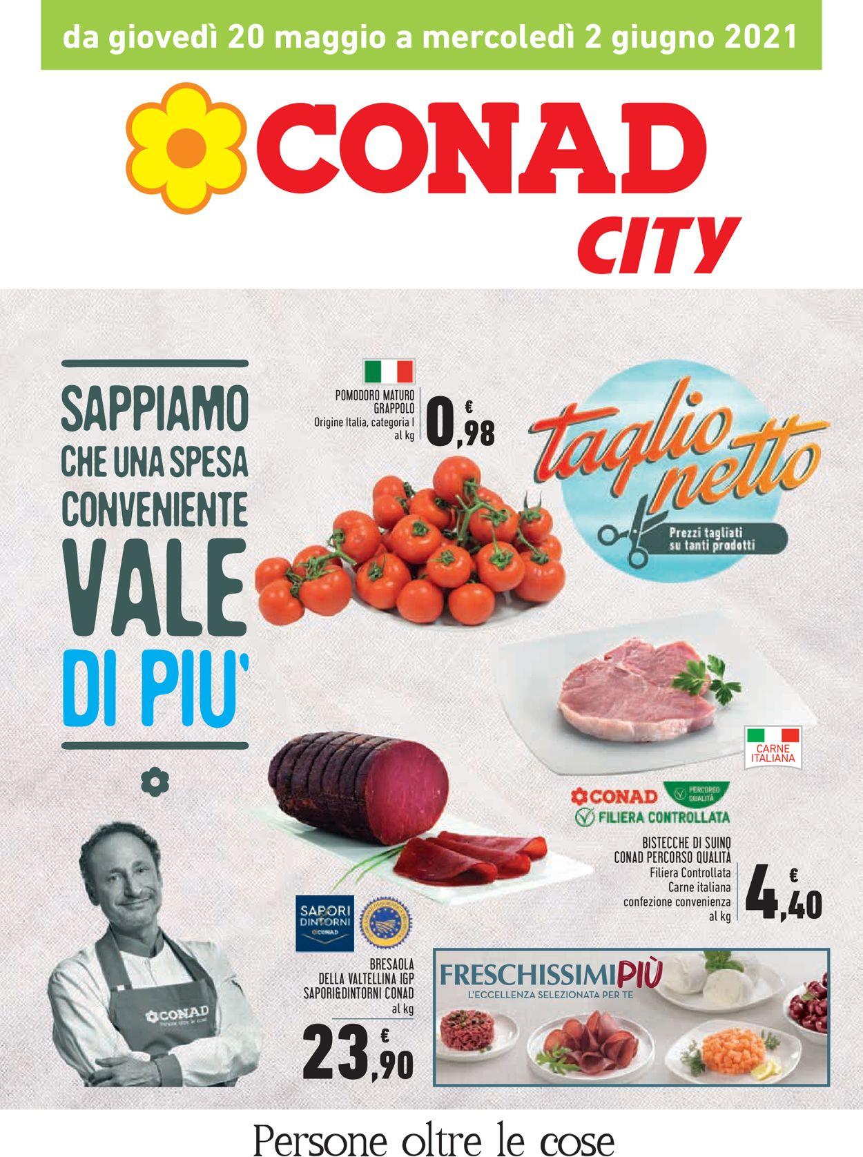 Volantino Conad - Offerte 20/05-02/06/2021