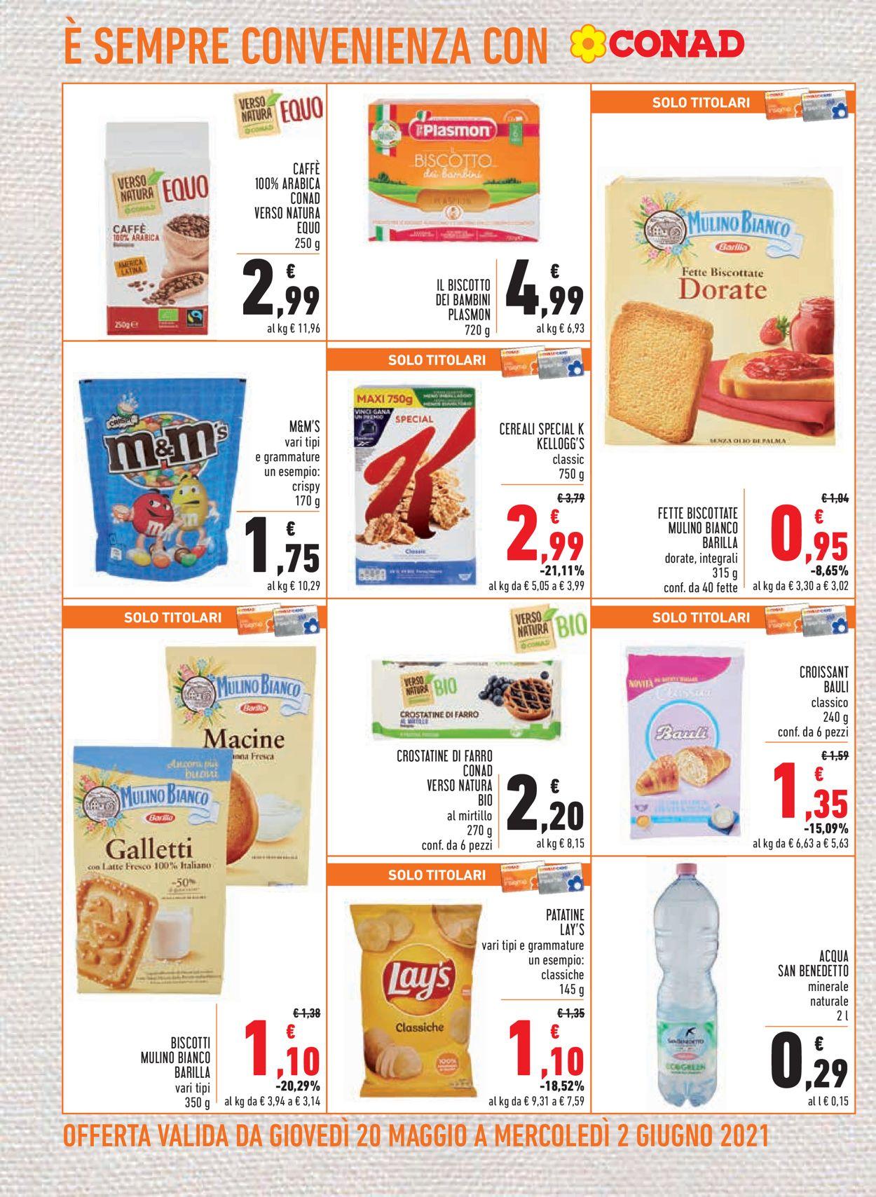 Volantino Conad - Offerte 20/05-02/06/2021 (Pagina 12)