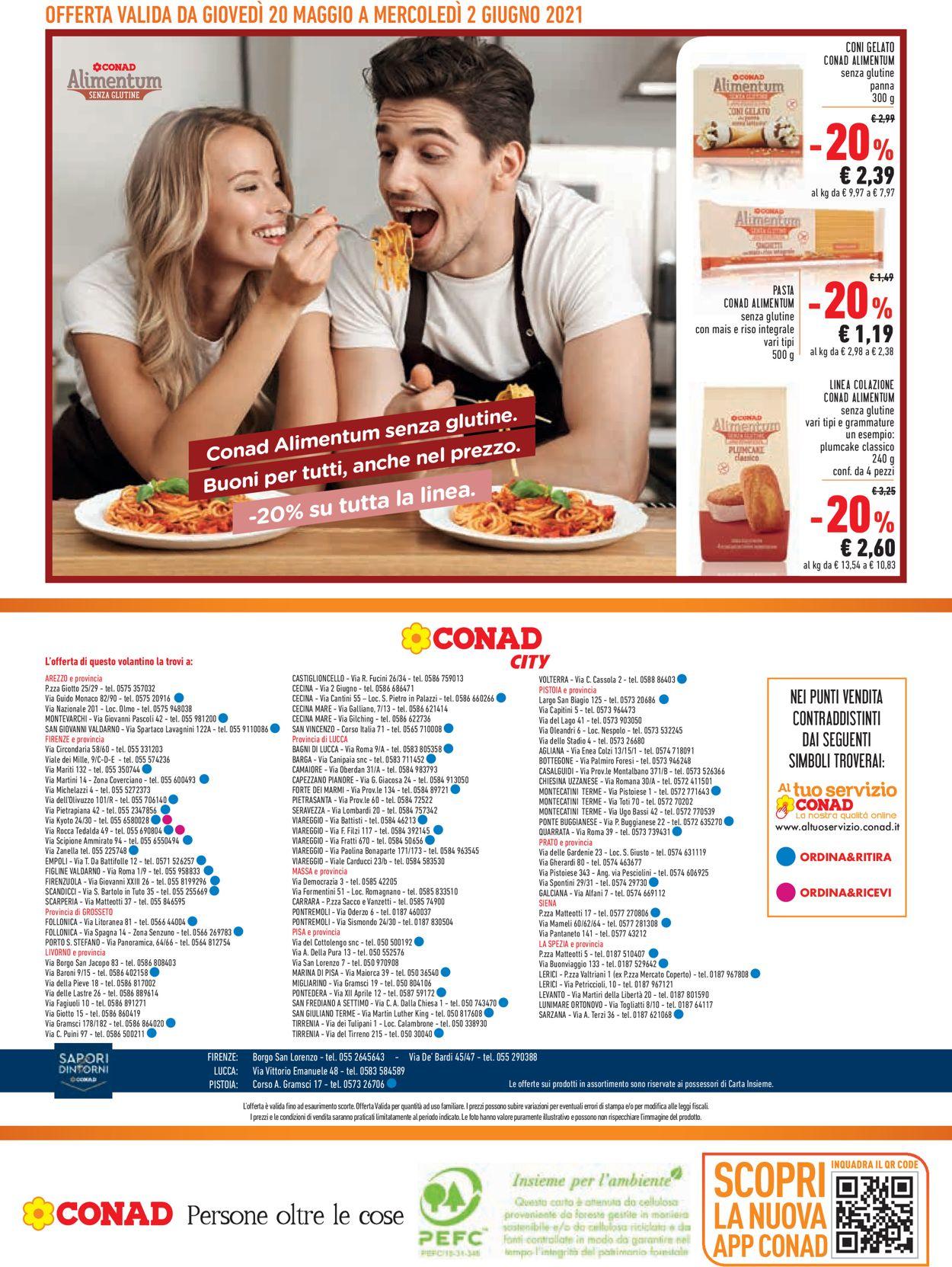 Volantino Conad - Offerte 20/05-02/06/2021 (Pagina 16)
