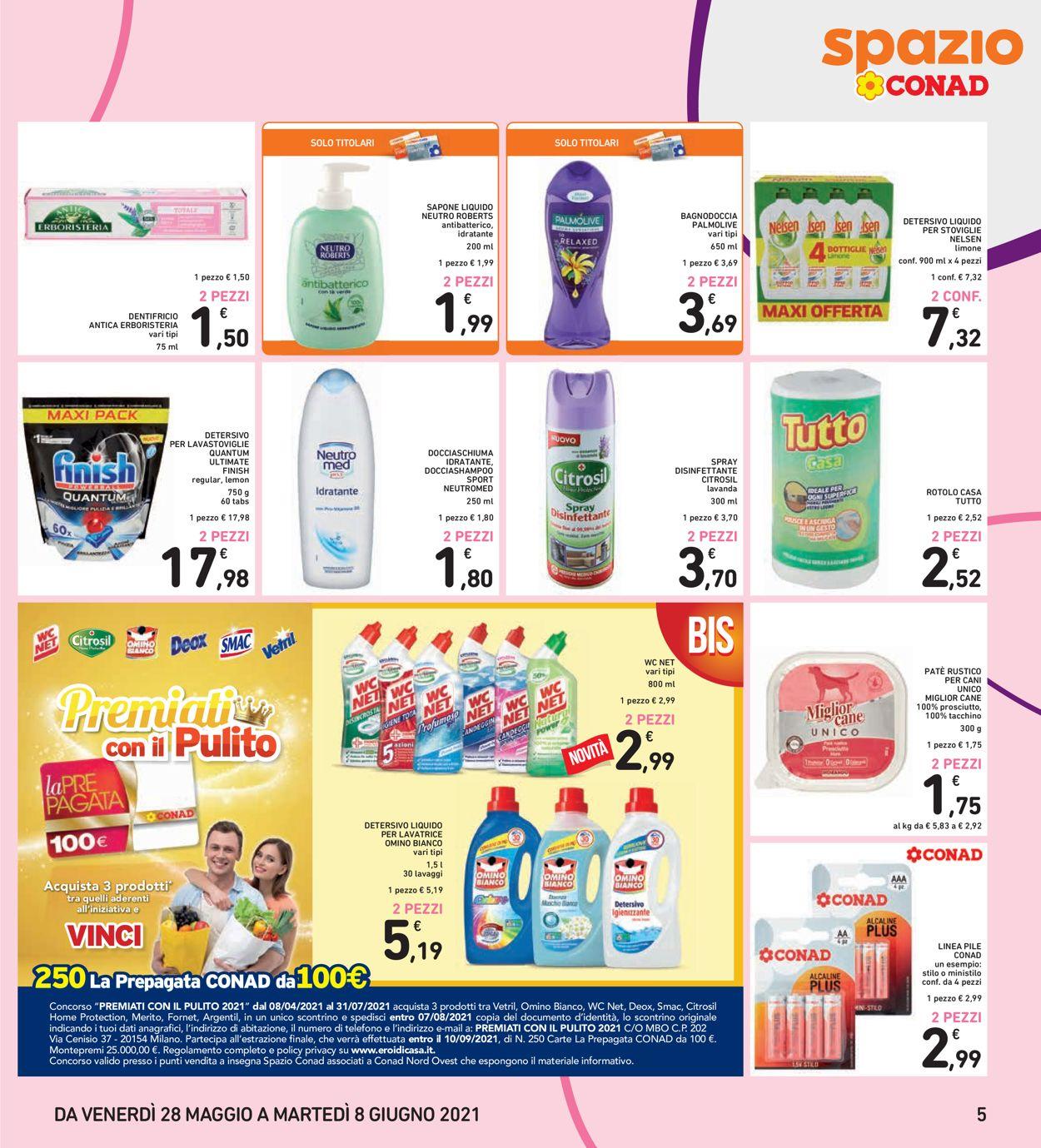 Volantino Conad - Offerte 28/05-08/06/2021 (Pagina 5)