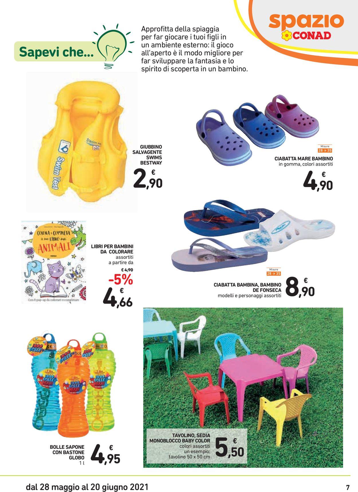 Volantino Conad - Offerte 28/05-20/06/2021 (Pagina 7)