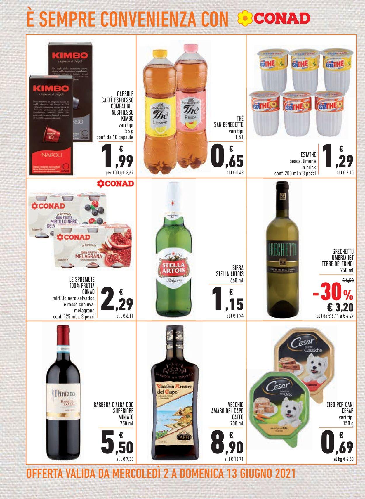 Volantino Conad - Offerte 02/06-13/06/2021 (Pagina 16)