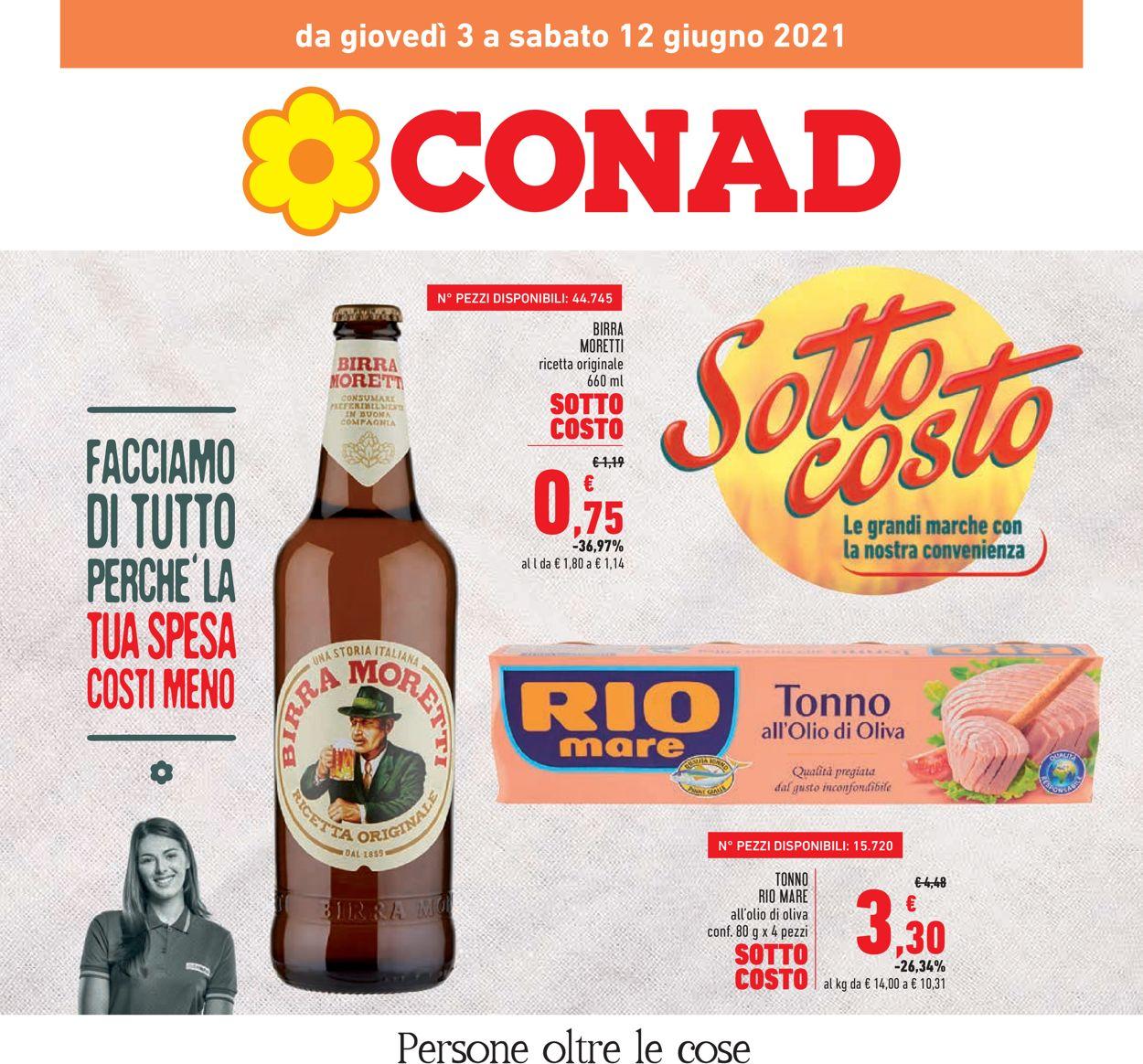 Volantino Conad - Offerte 03/06-12/06/2021