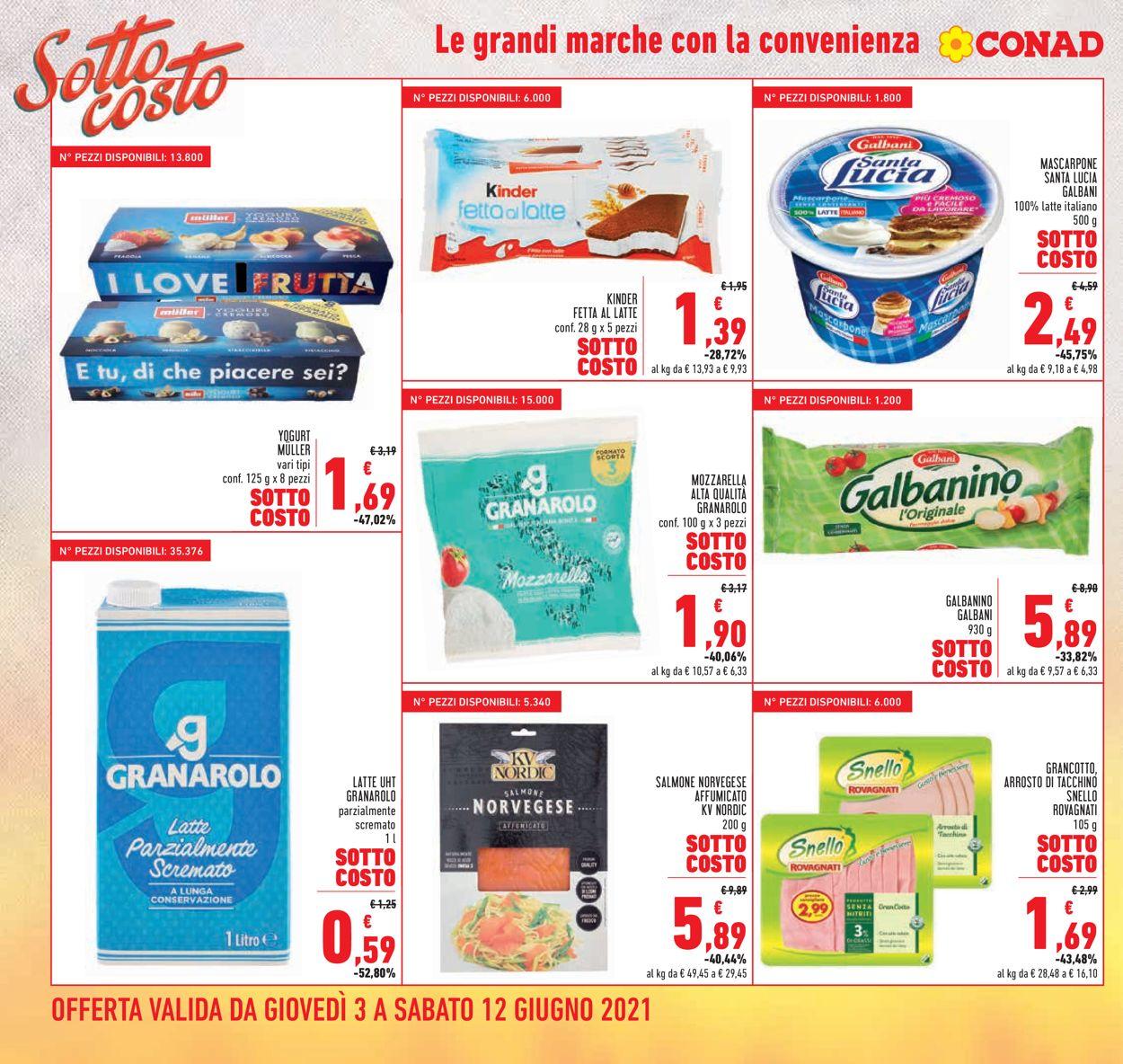 Volantino Conad - Offerte 03/06-12/06/2021 (Pagina 2)