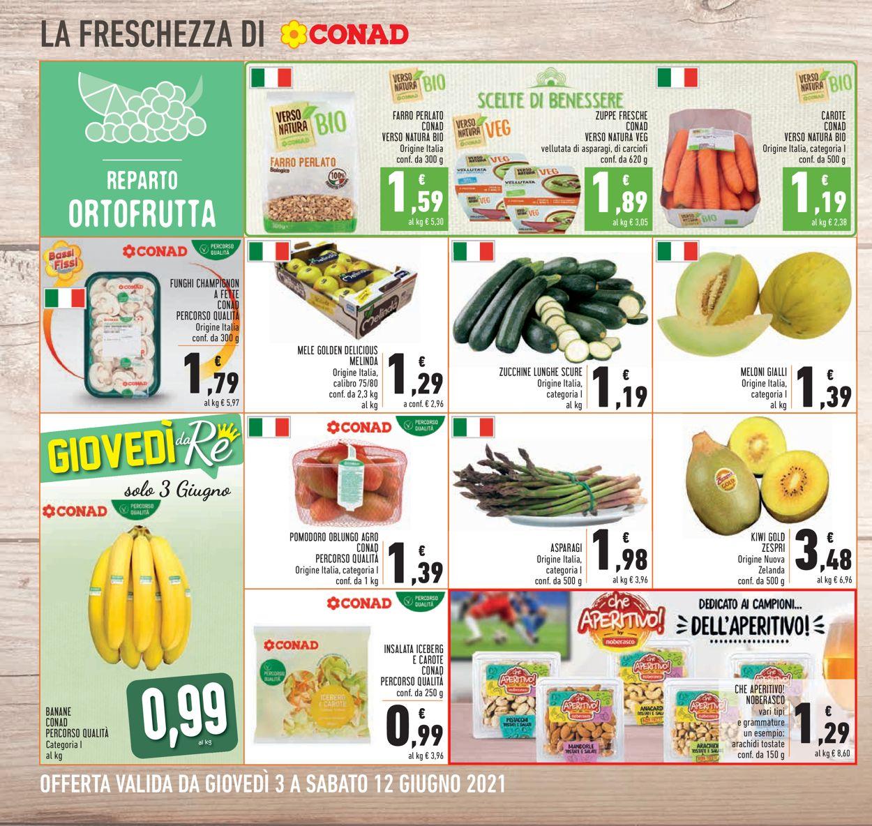 Volantino Conad - Offerte 03/06-12/06/2021 (Pagina 14)