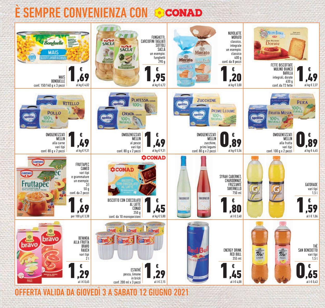Volantino Conad - Offerte 03/06-12/06/2021 (Pagina 22)