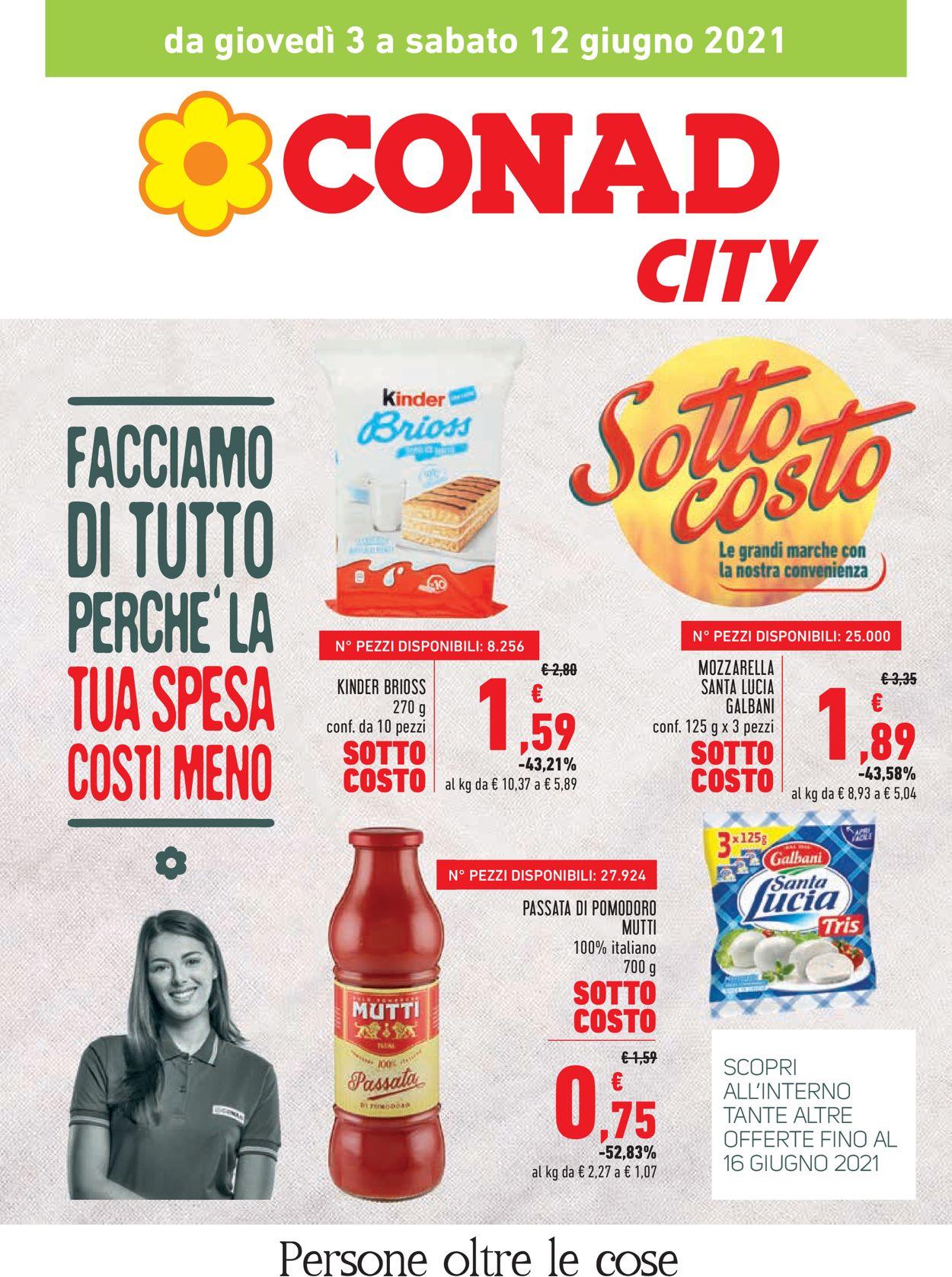 Volantino Conad - Offerte 03/06-16/06/2021