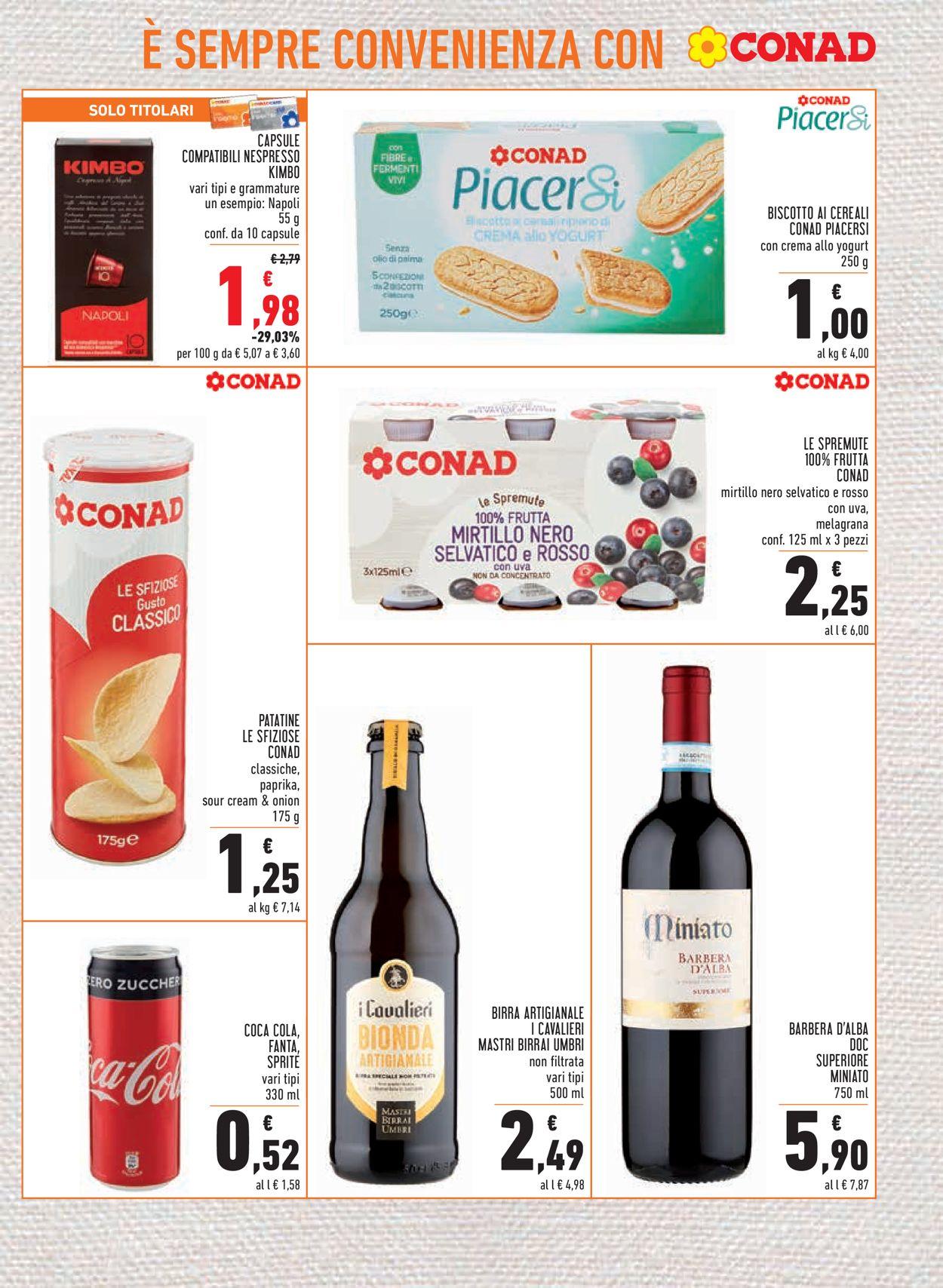 Volantino Conad - Offerte 03/06-16/06/2021 (Pagina 17)